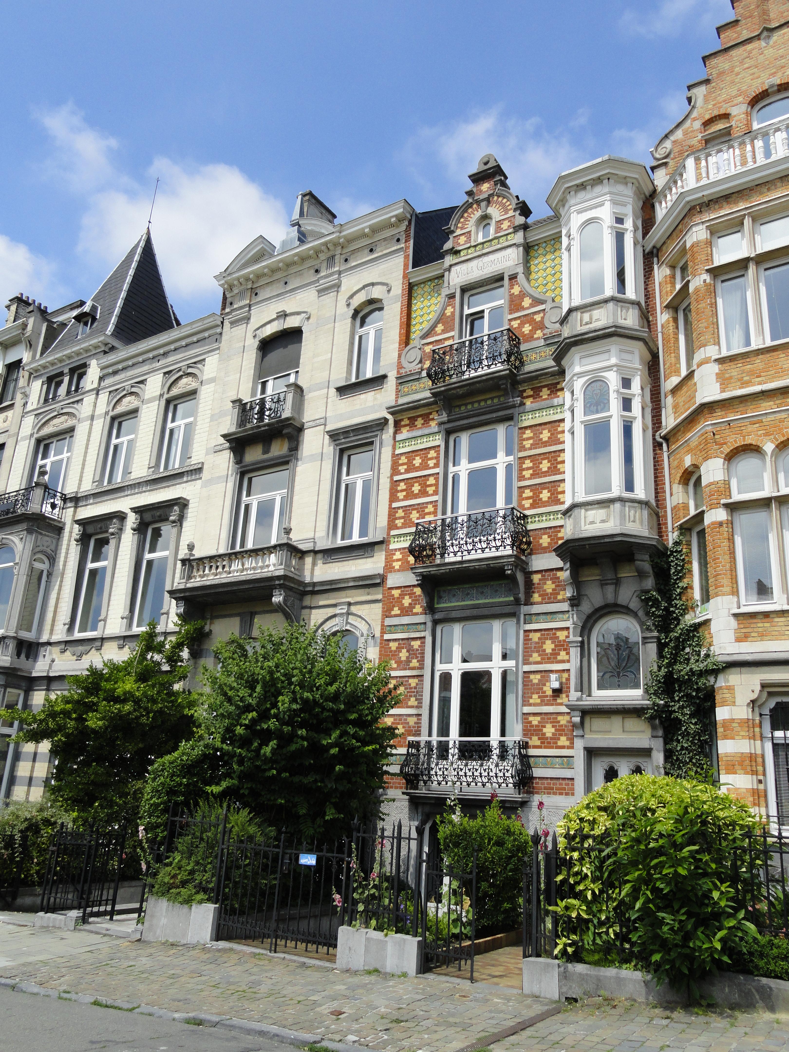 Bruxelles deux fois l 39 art nouveau un petit pois sur - Maison de l art nouveau ...