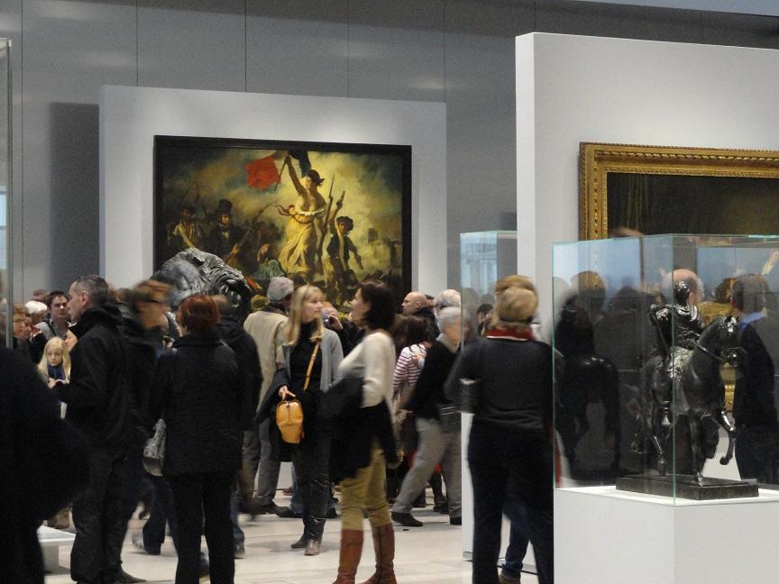 Le Louvre - Lens, la Galerie du Temps - La Liberté guidant le peuple