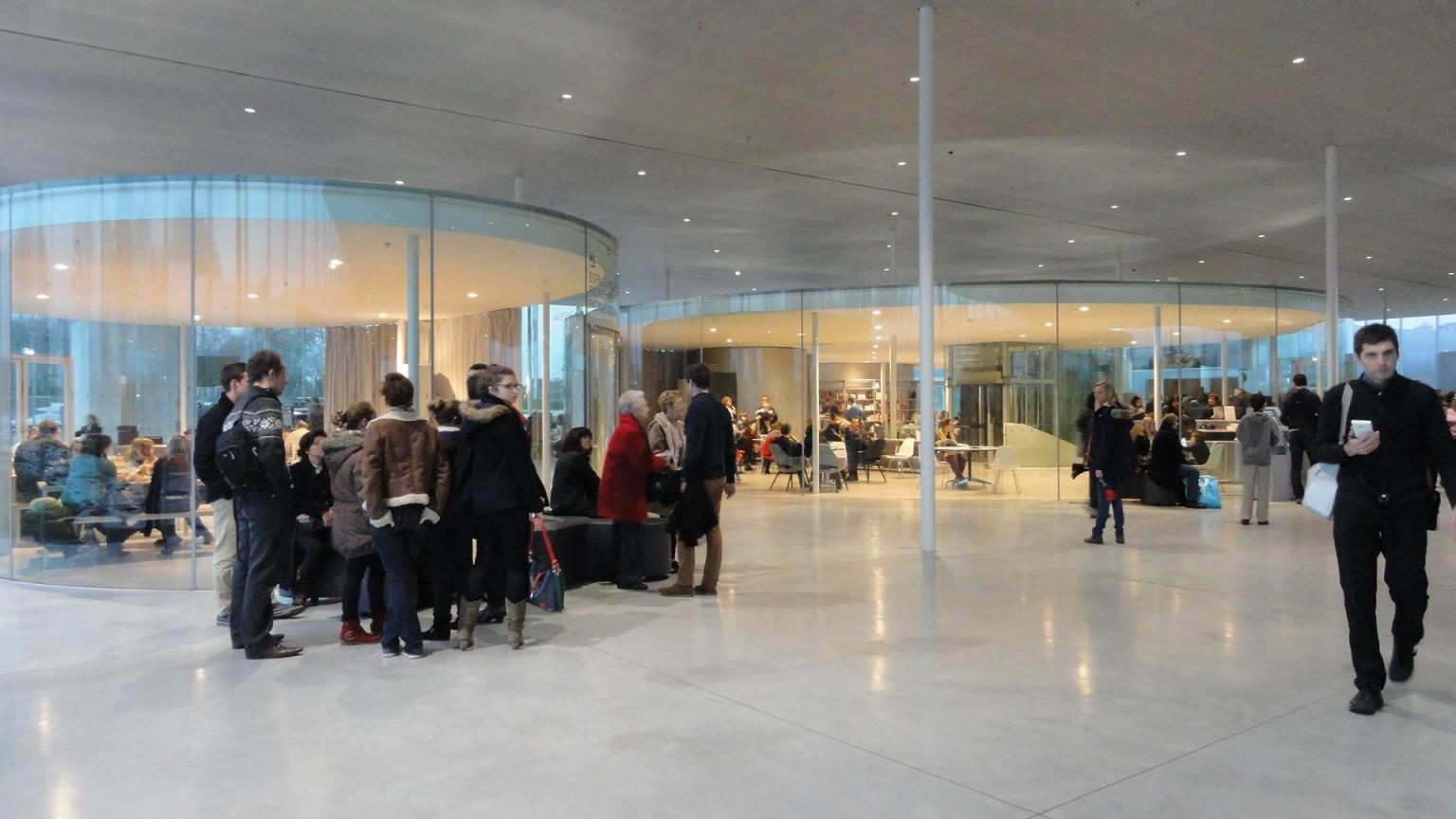 Le Louvre - Lens, intérieur