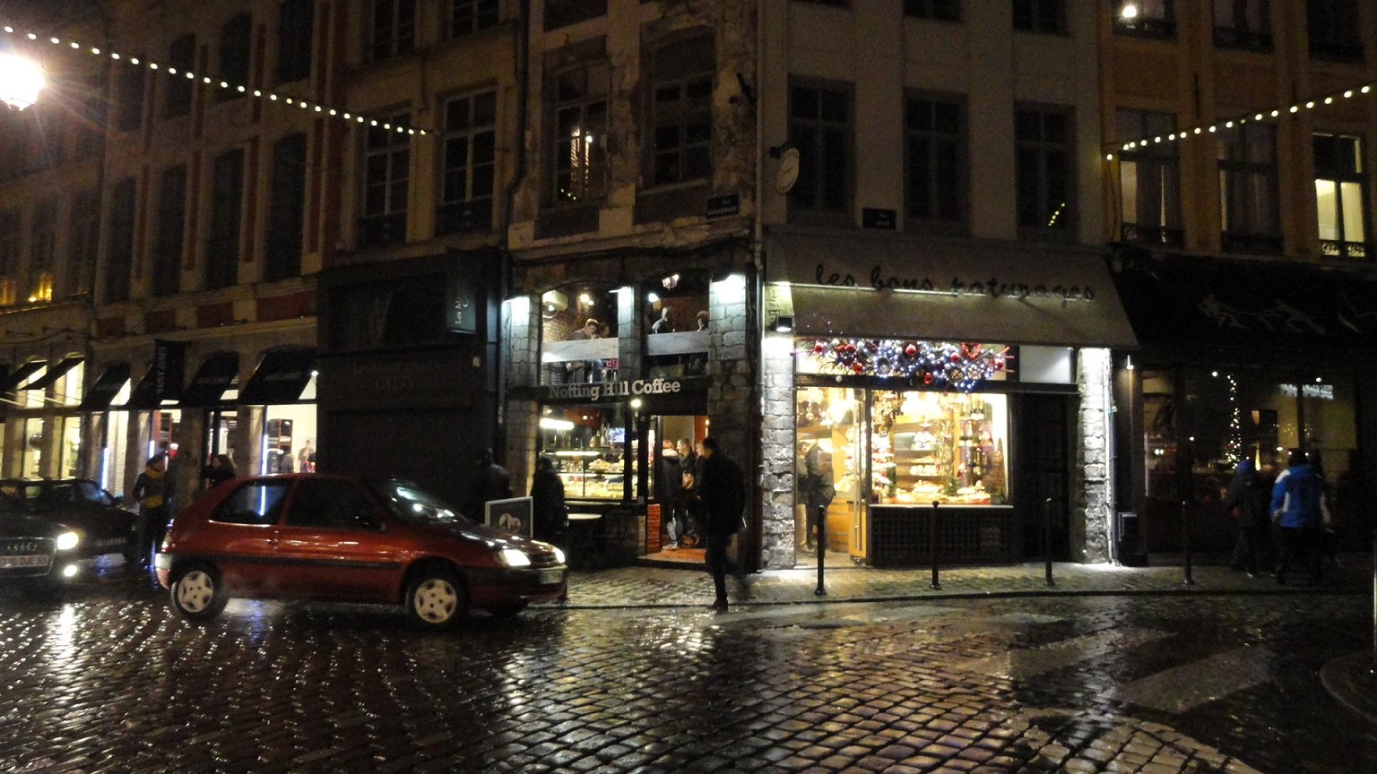 Lille - Rue Esquermoise, Le Notting Hill Coffee