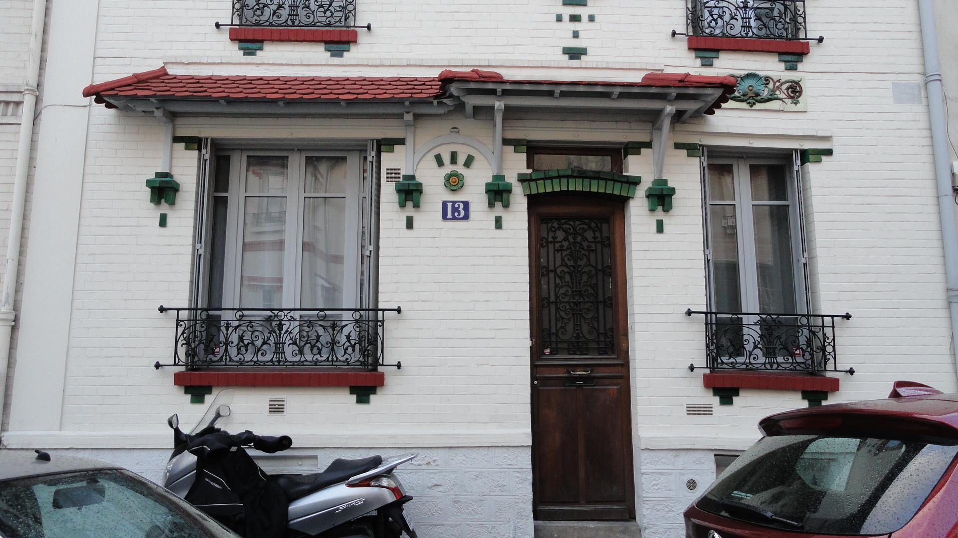 13 Rue Ernest et Henri Roussel