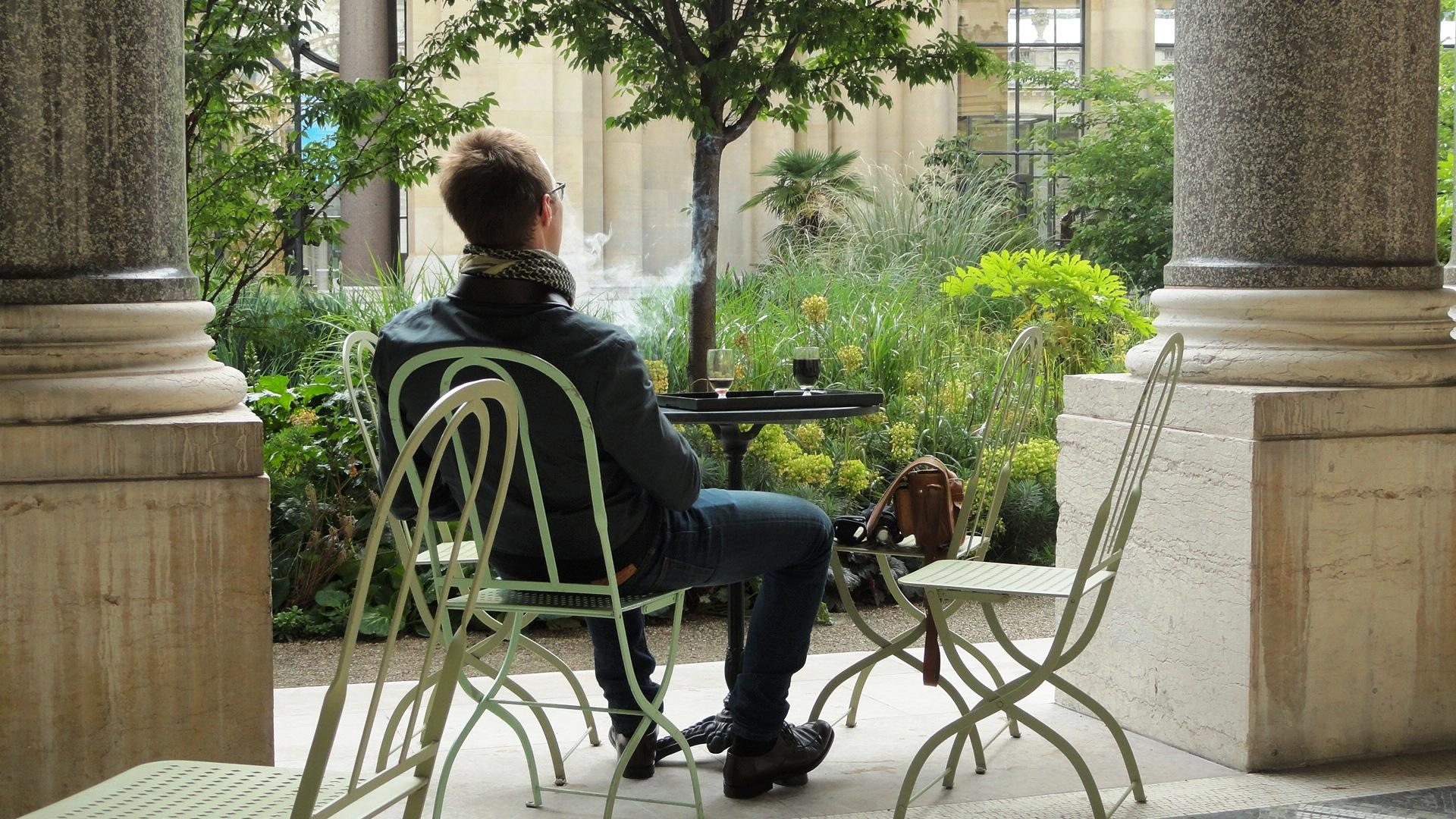 Une pause au petit palais un petit pois sur dix for Cafe le jardin du petit palais