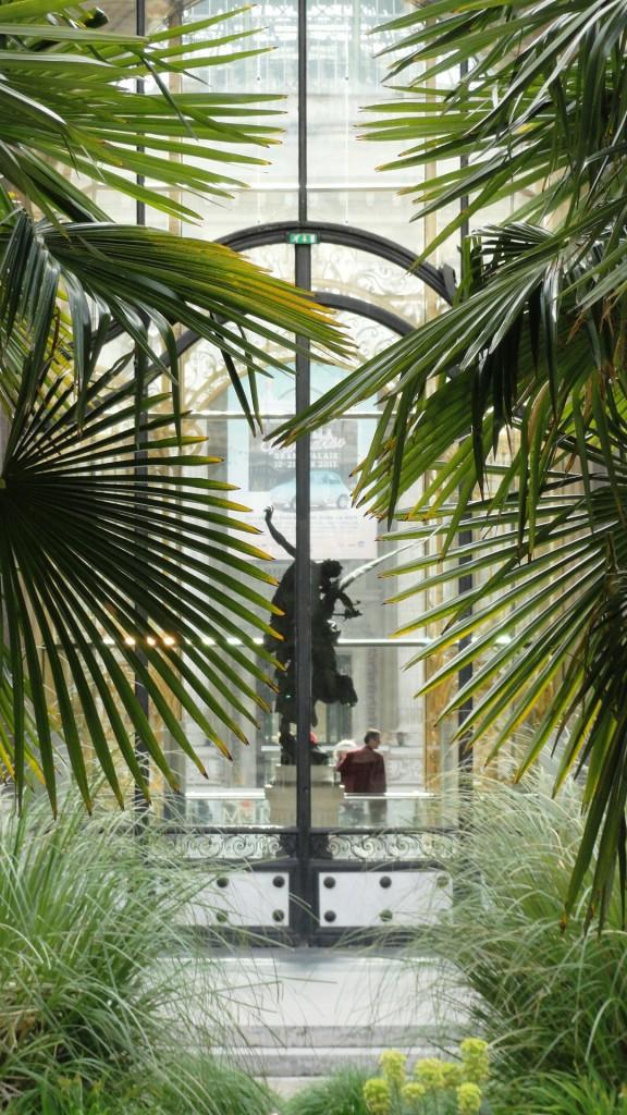 Jardin du Petit Palais - Entrée