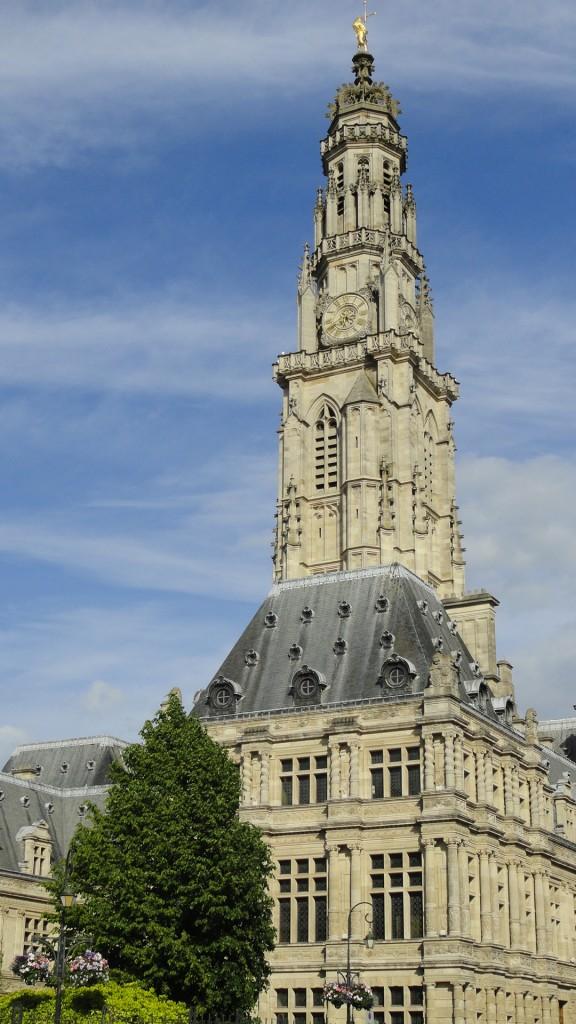 Arras - Place des Héros - Le Beffroi