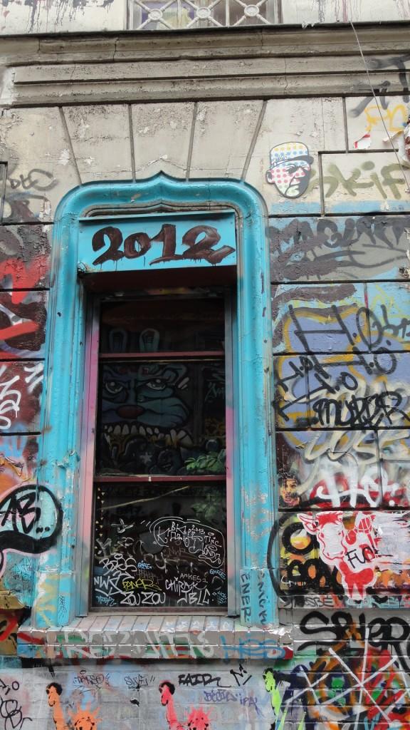 Rue Denoyez, Paris 20e - Fenêtre
