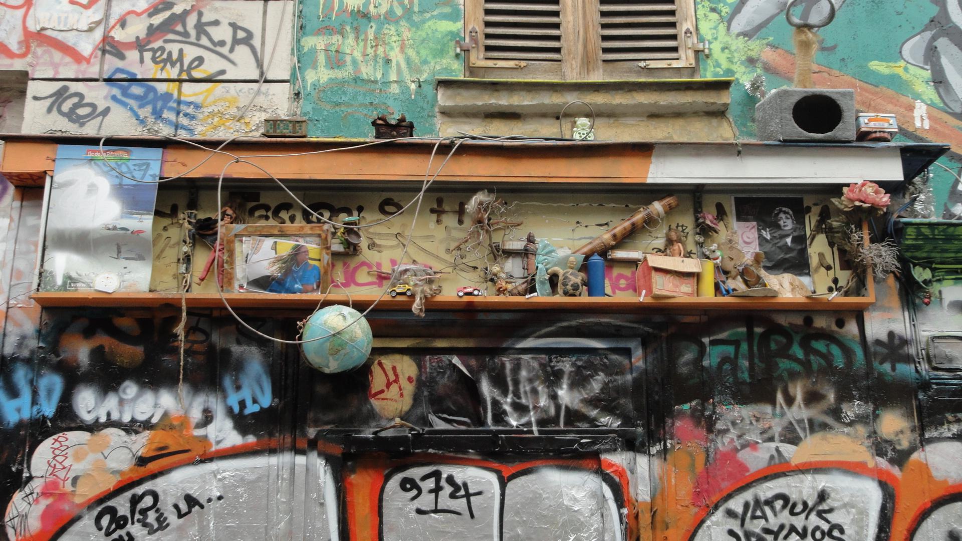 Rue Denoyez, Paris 20e - Détail