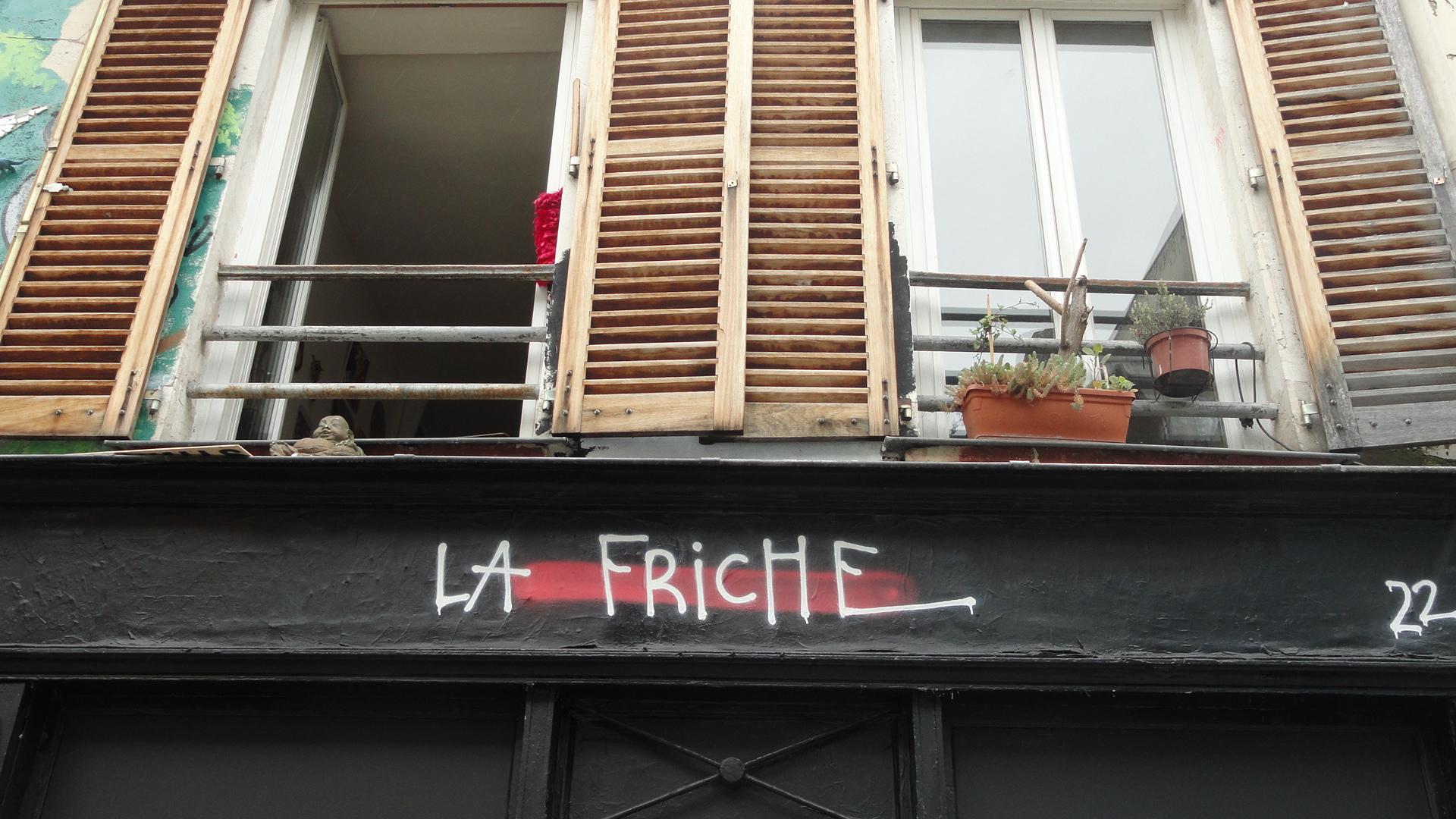 Rue Denoyez, Paris 20e - La Friche