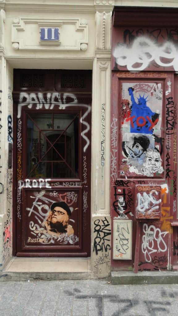 Rue Denoyez, Paris 20e - Porte