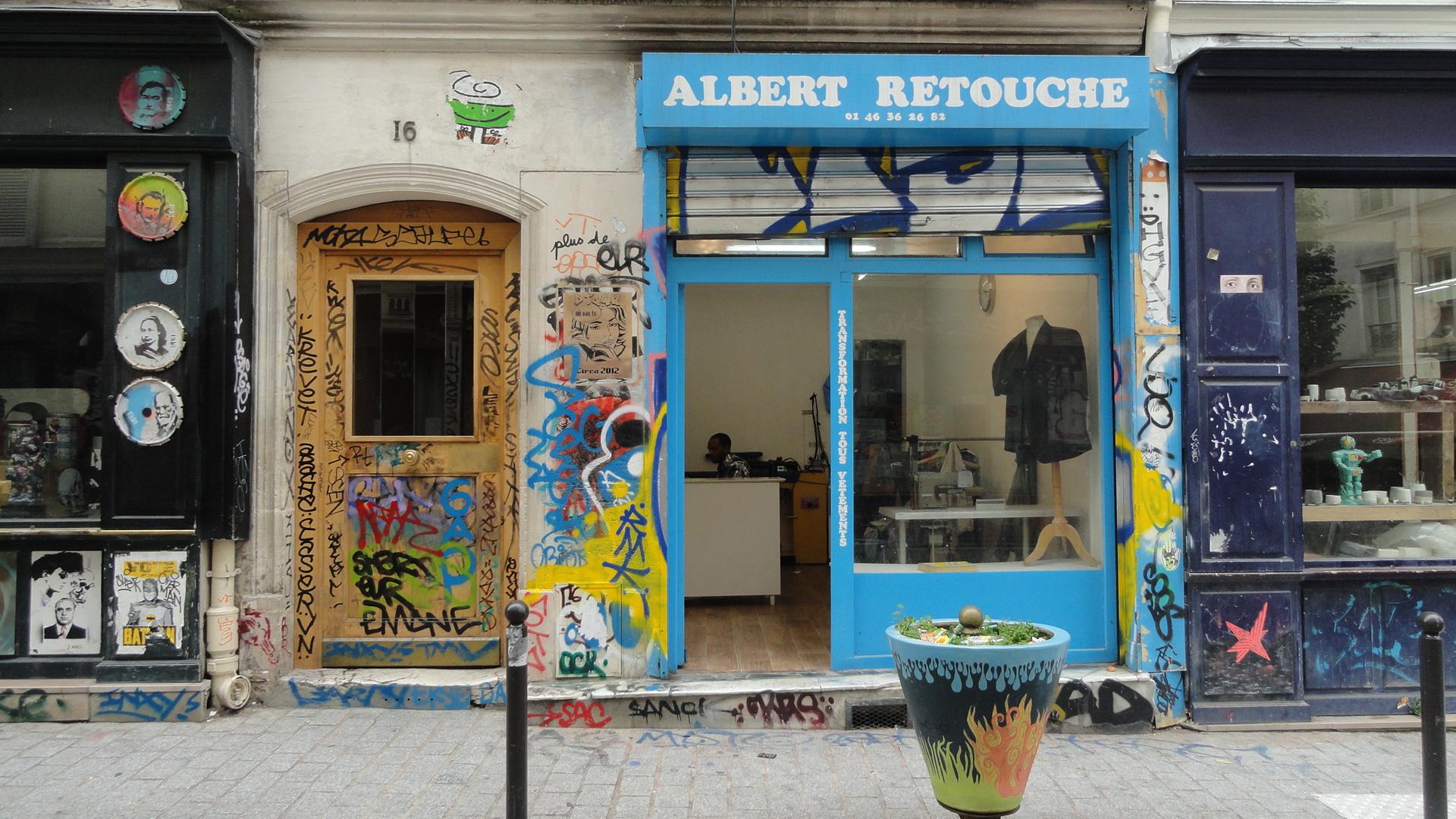 Rue Denoyez, Paris 20e - Albert Retouche
