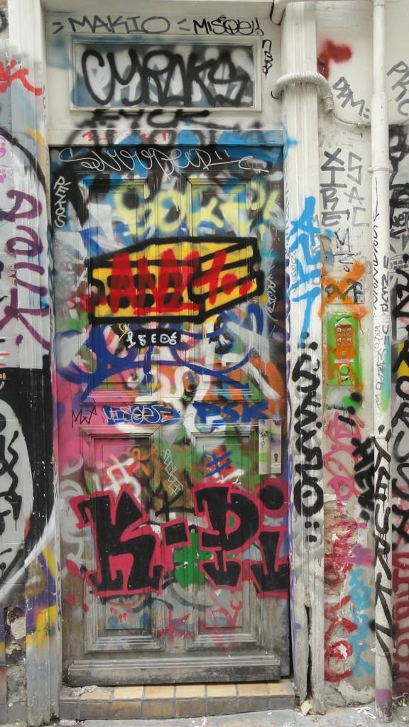 Rue Denoyez, Paris 20e - Le n°7, Porte