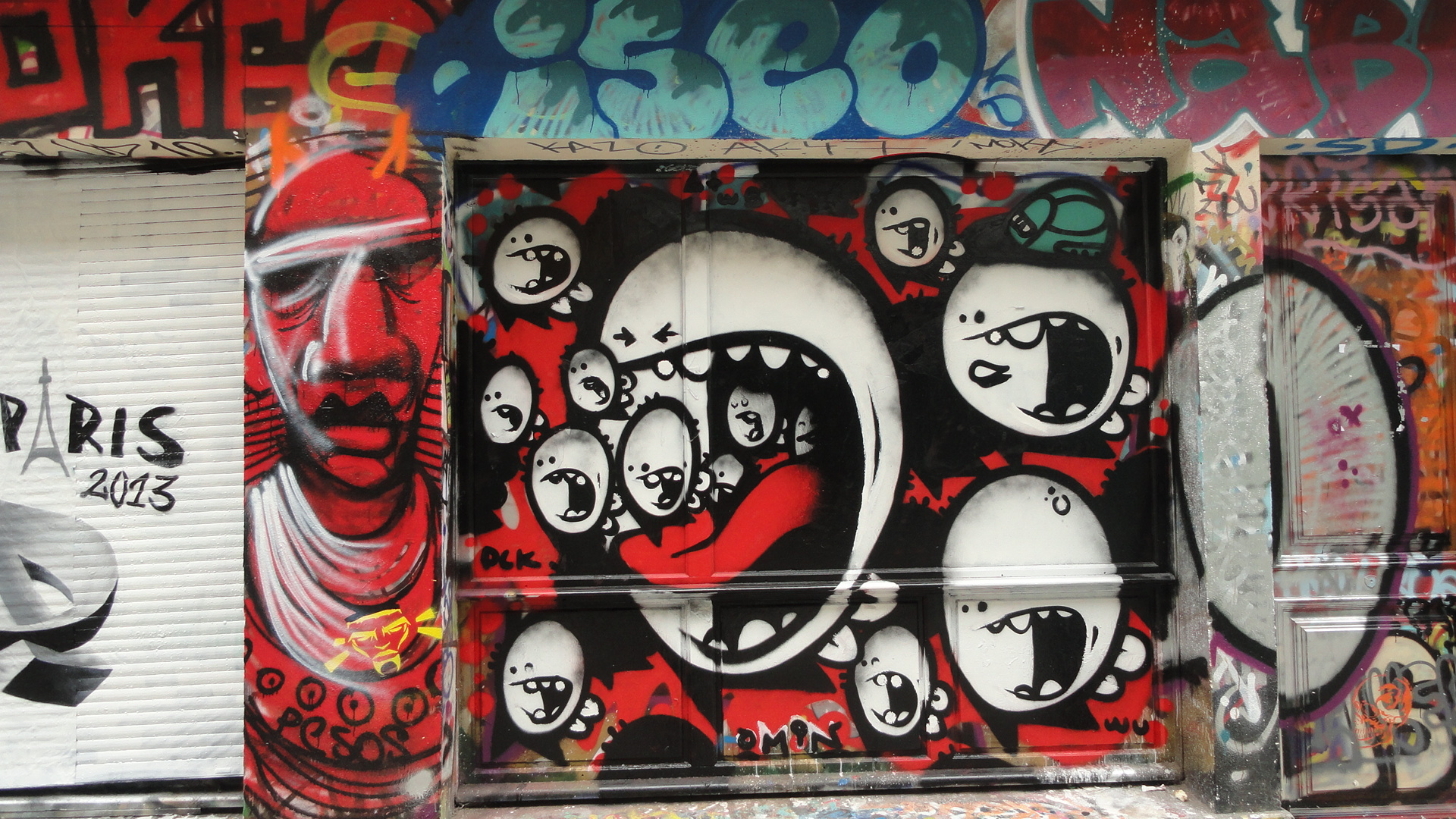 Rue Denoyez, Paris 20e
