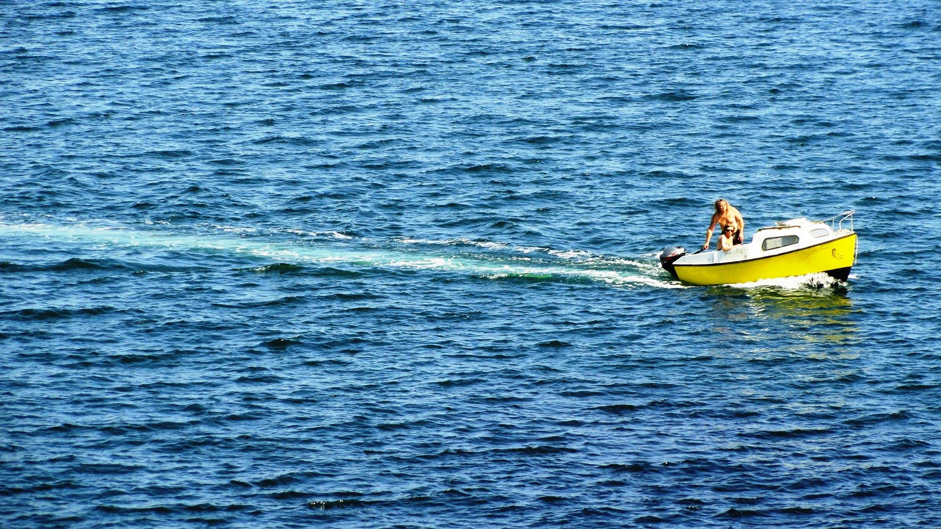 Balade en mer