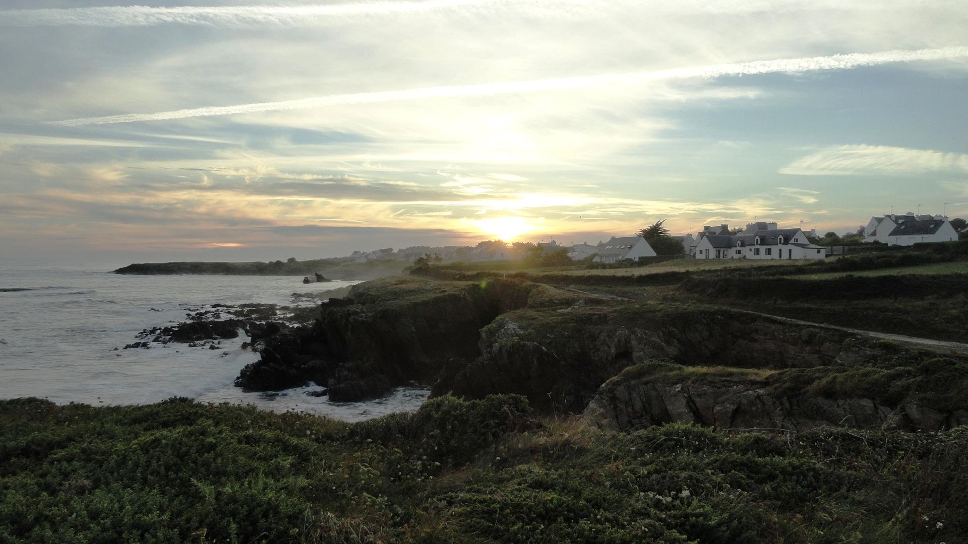 Côte bretonne - Entre Doëlan et le Pouldu