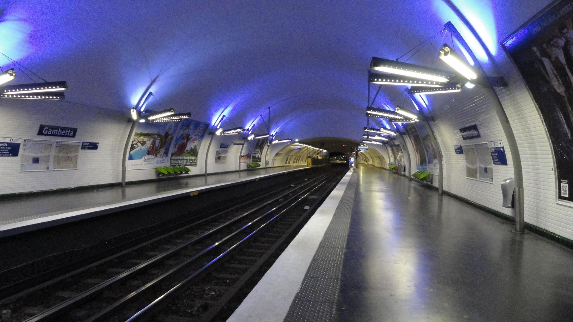 La ligne 3 - Station Gambetta