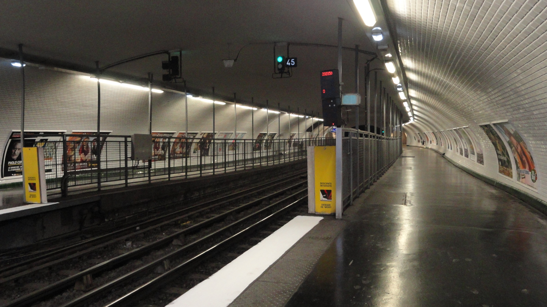 La ligne 3 - Station Gambetta, ancienne station Martin Nadaud