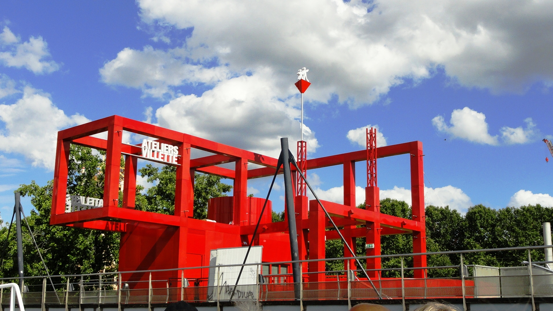 Parc de la Villette, Paris - Folie
