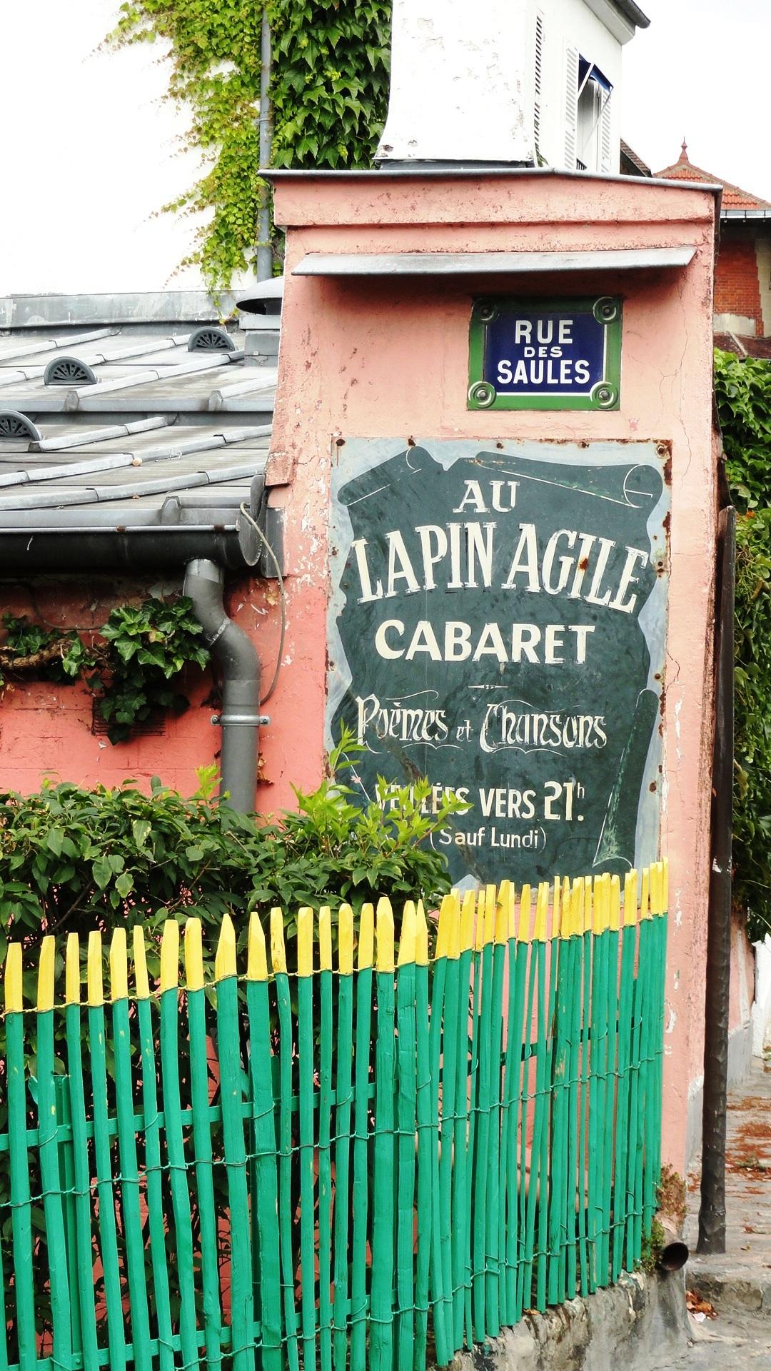 Montmartre - Cabaret Au Lapin Agile