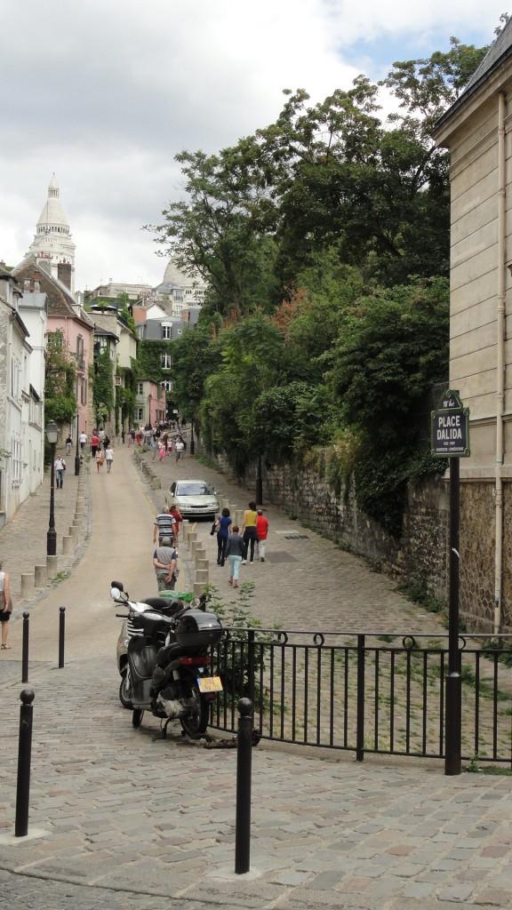 Montmartre - Rue de l'Abreuvoir