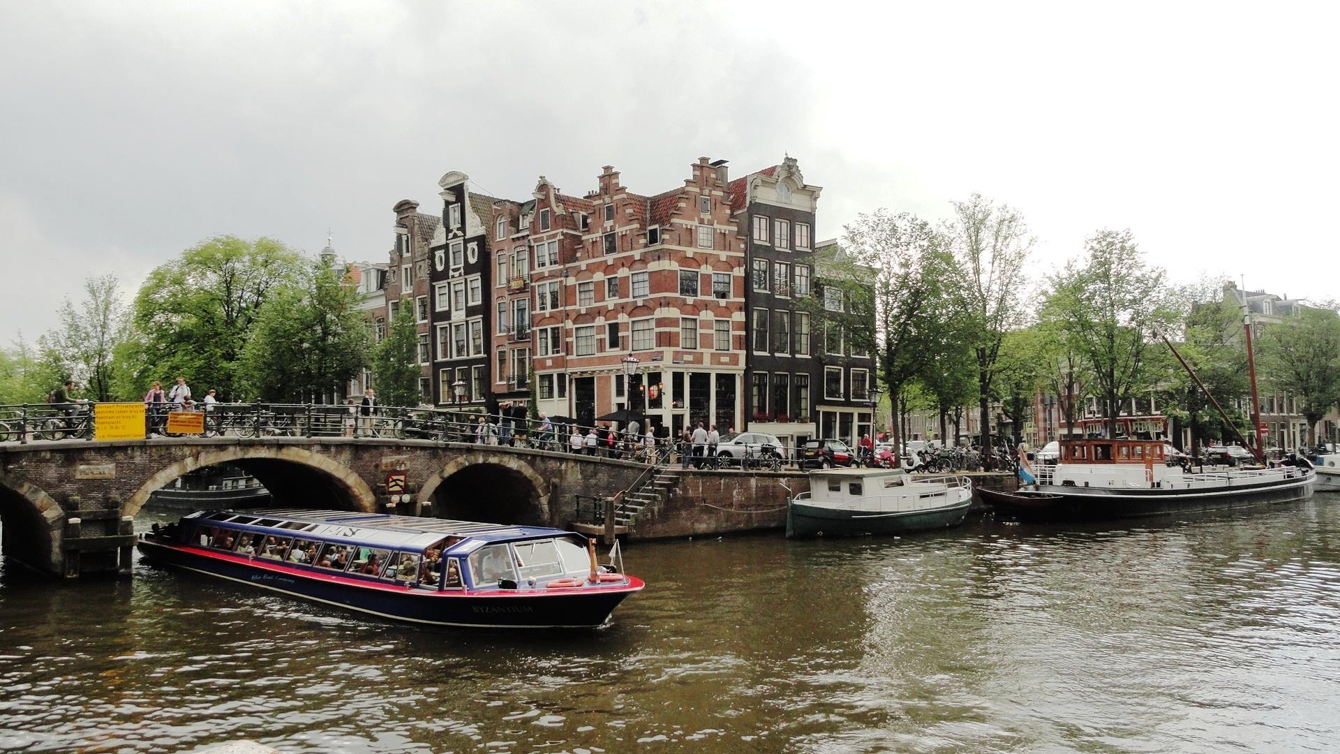 Amsterdam - Canaux et Maisons