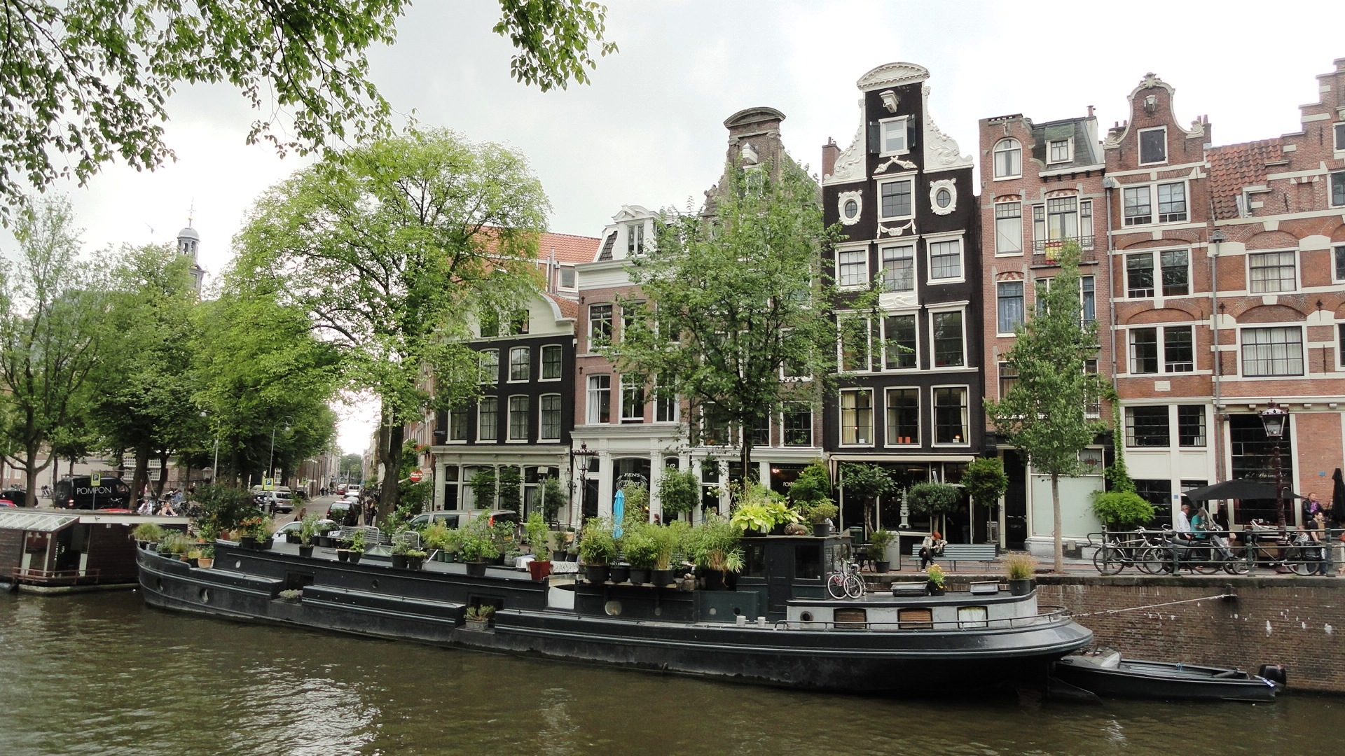 Amsterdam - Maisons et Canux