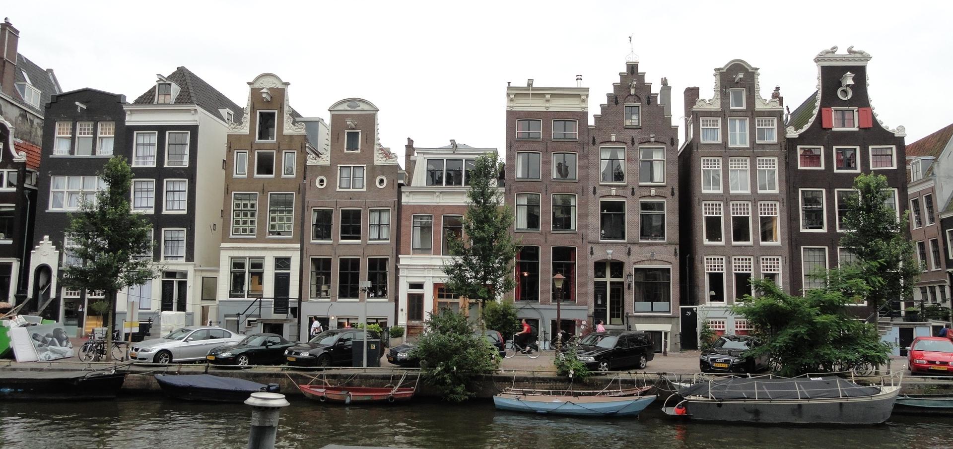 Amsterdam - Maisons et Canaux