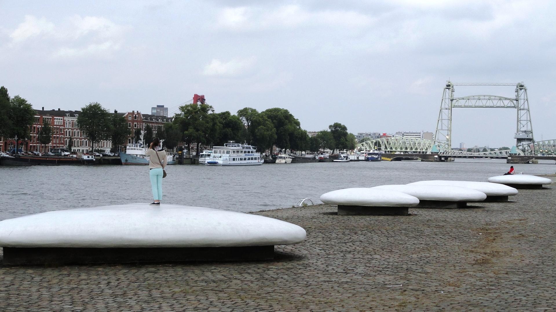 Rotterdam - La nouvelle Meuse