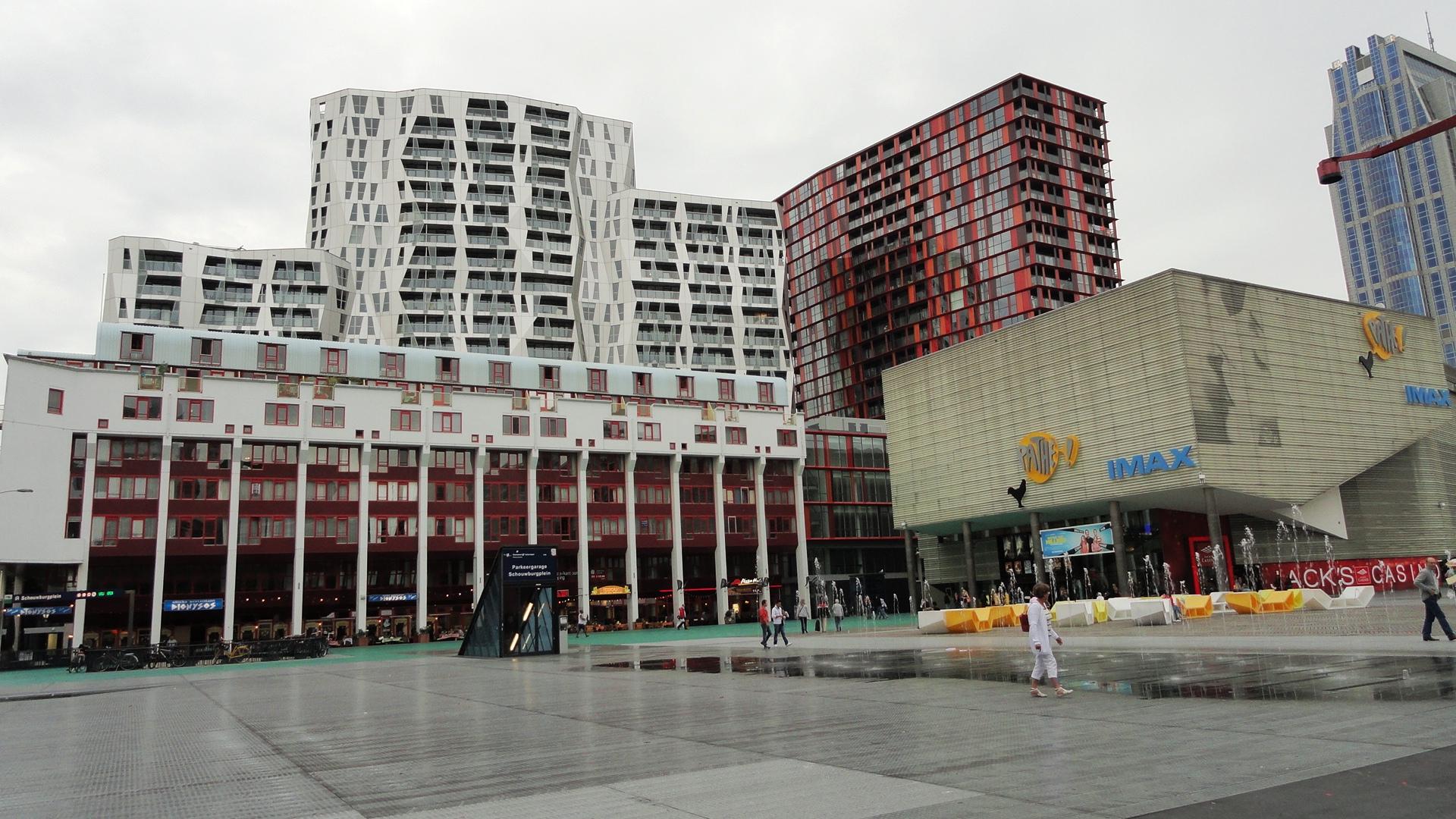 Rotterdam - Schouwburgplein