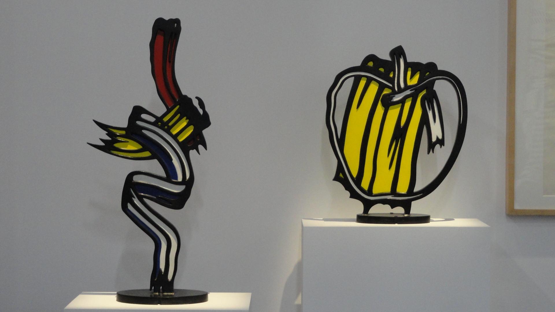 Rétrospective de Roy Lichtenstein, Centre Pompidou - Sculptures