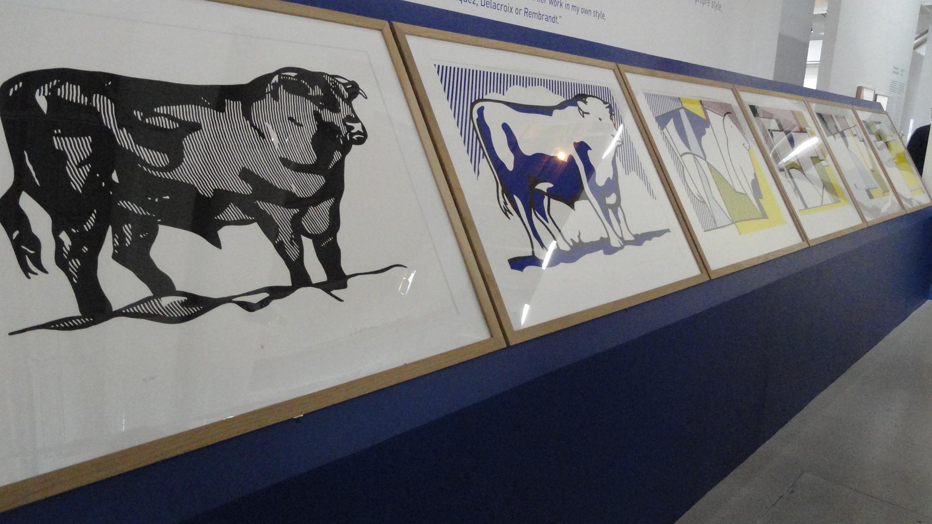 Rétrospective de Roy Lichtenstein, Centre Pompidou - L'art comme sujet