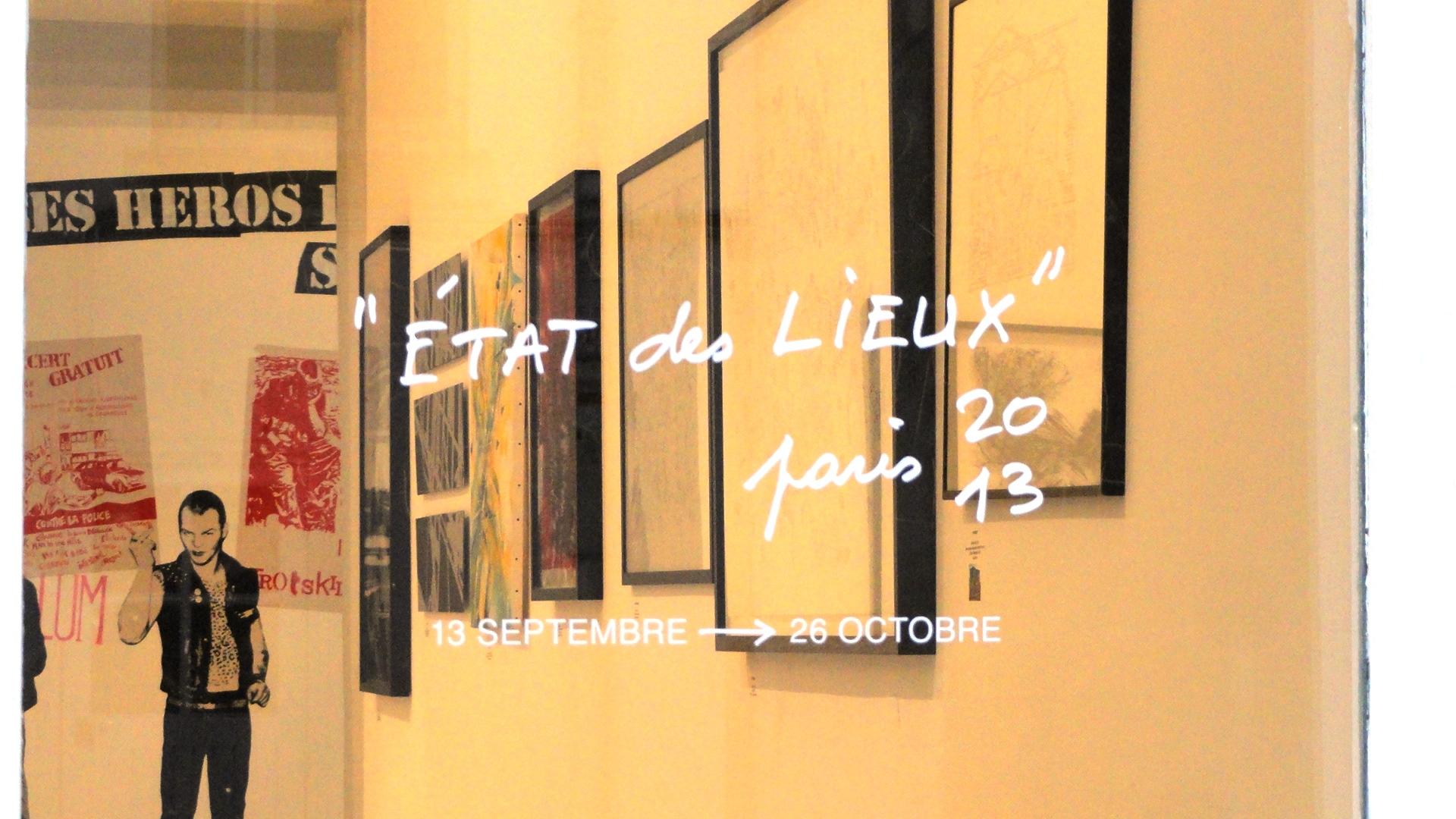 Etat des Lieux 2013 - Galerie du jour, Agnès b.
