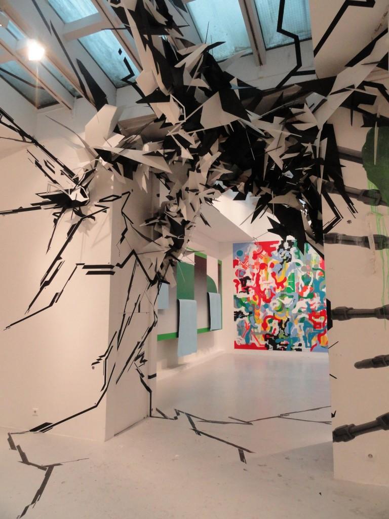 Etat des Lieux 2013 - Galerie du jour, Agnès b. - WAYLA / Jonone et Lek et Sowat