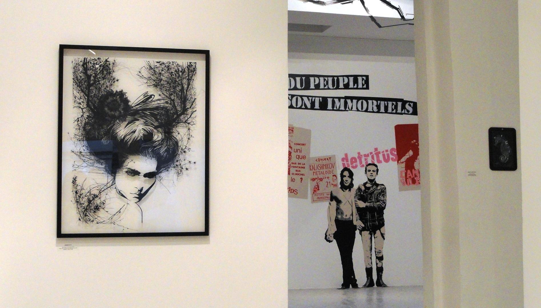 Etat des Lieux 2013 - Galerie du jour, Agnès b. - Monsieur Qui, Poch