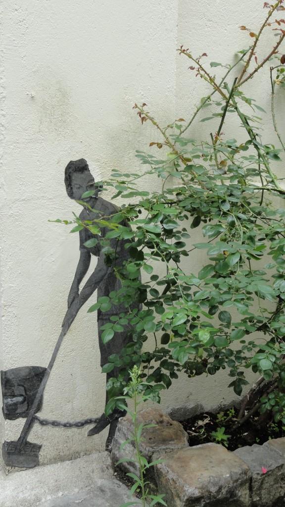 Rue des Thermopyles, Paris 14e - Street art