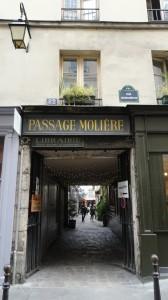 Passage Molière - Entrée rue Quincampoix