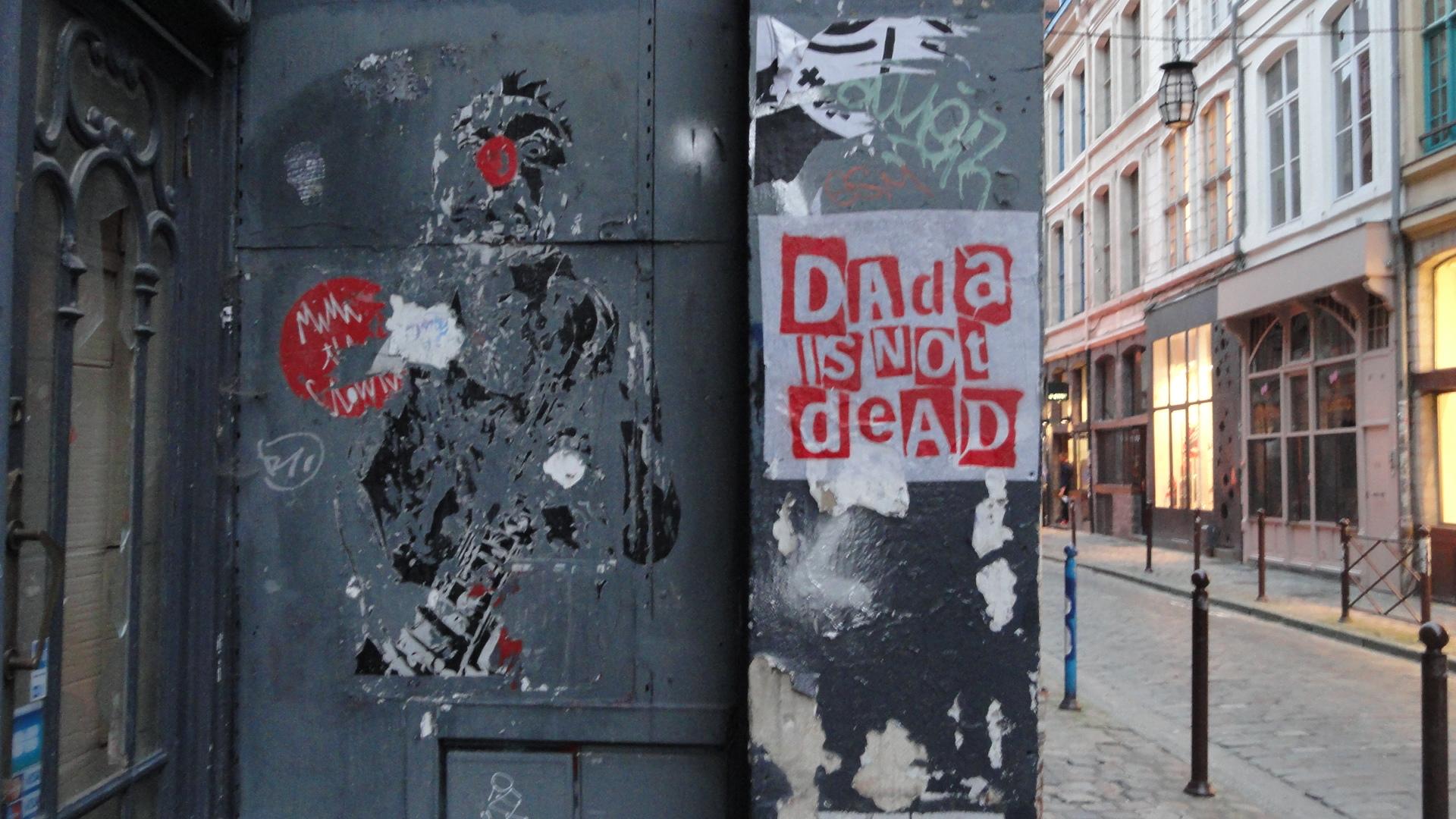 Lille - Rue de la Clef - Street art