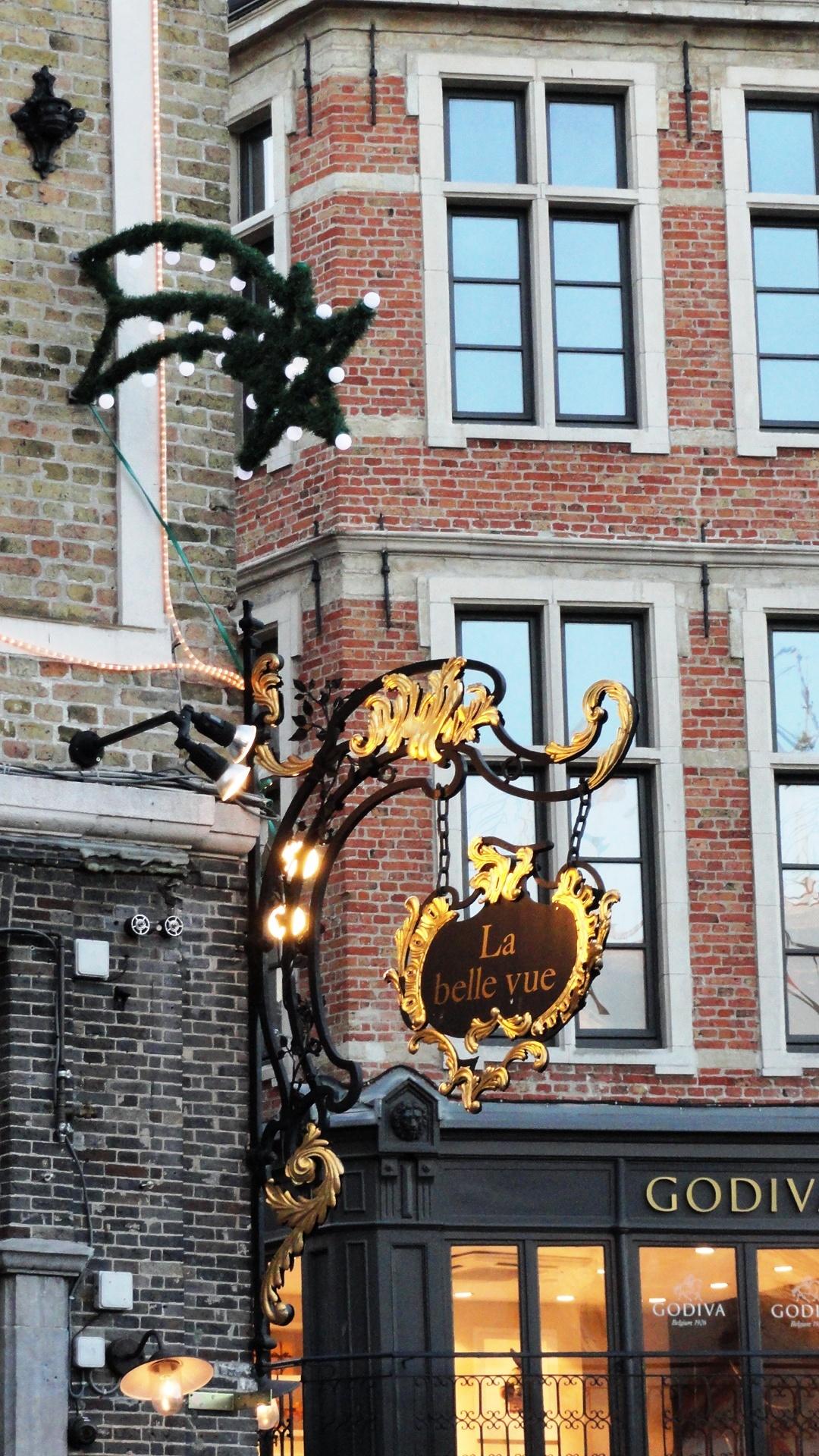 """Bruges - Markt - """"La Belle vue"""""""