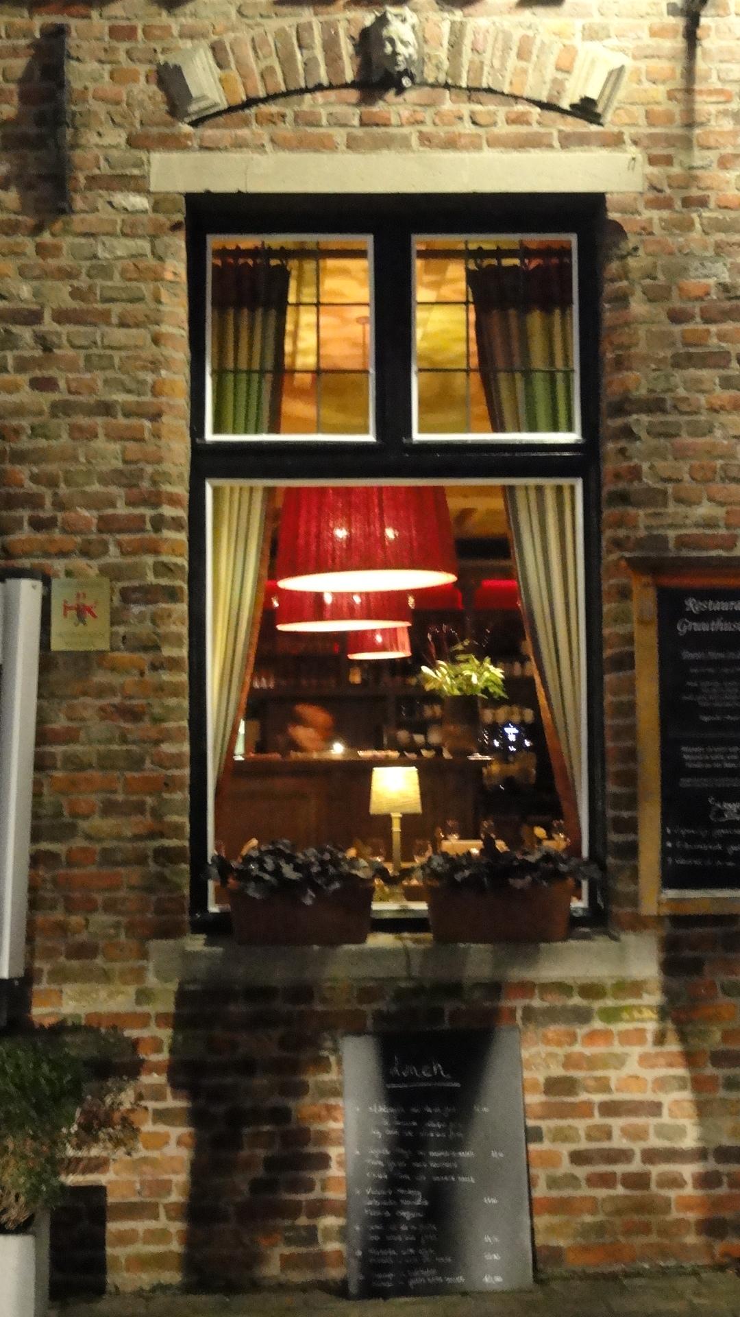 Bruges - Fenêtre