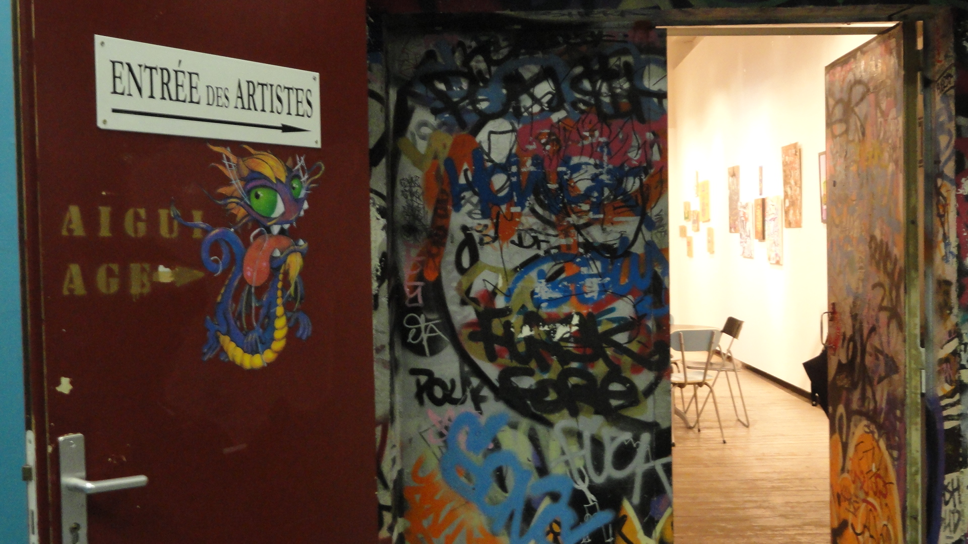 L'Aiguillage Galerie - Les Frigos - Paris 13e