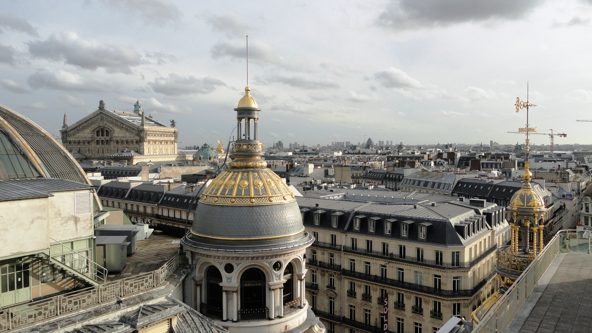 Terrasse du Printemps - Vue sur Paris