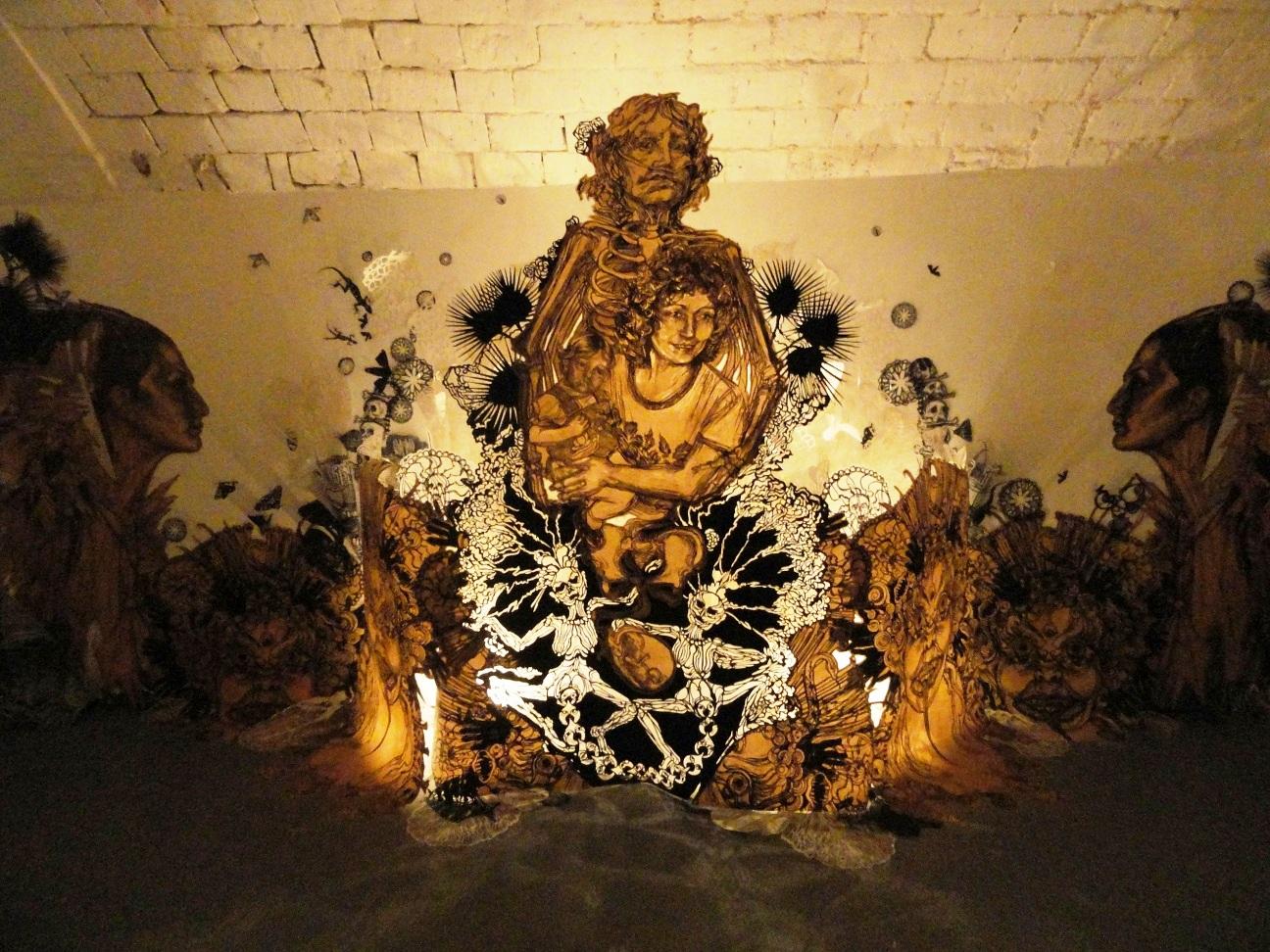 Swoon, Motherlands - Galerie LJ