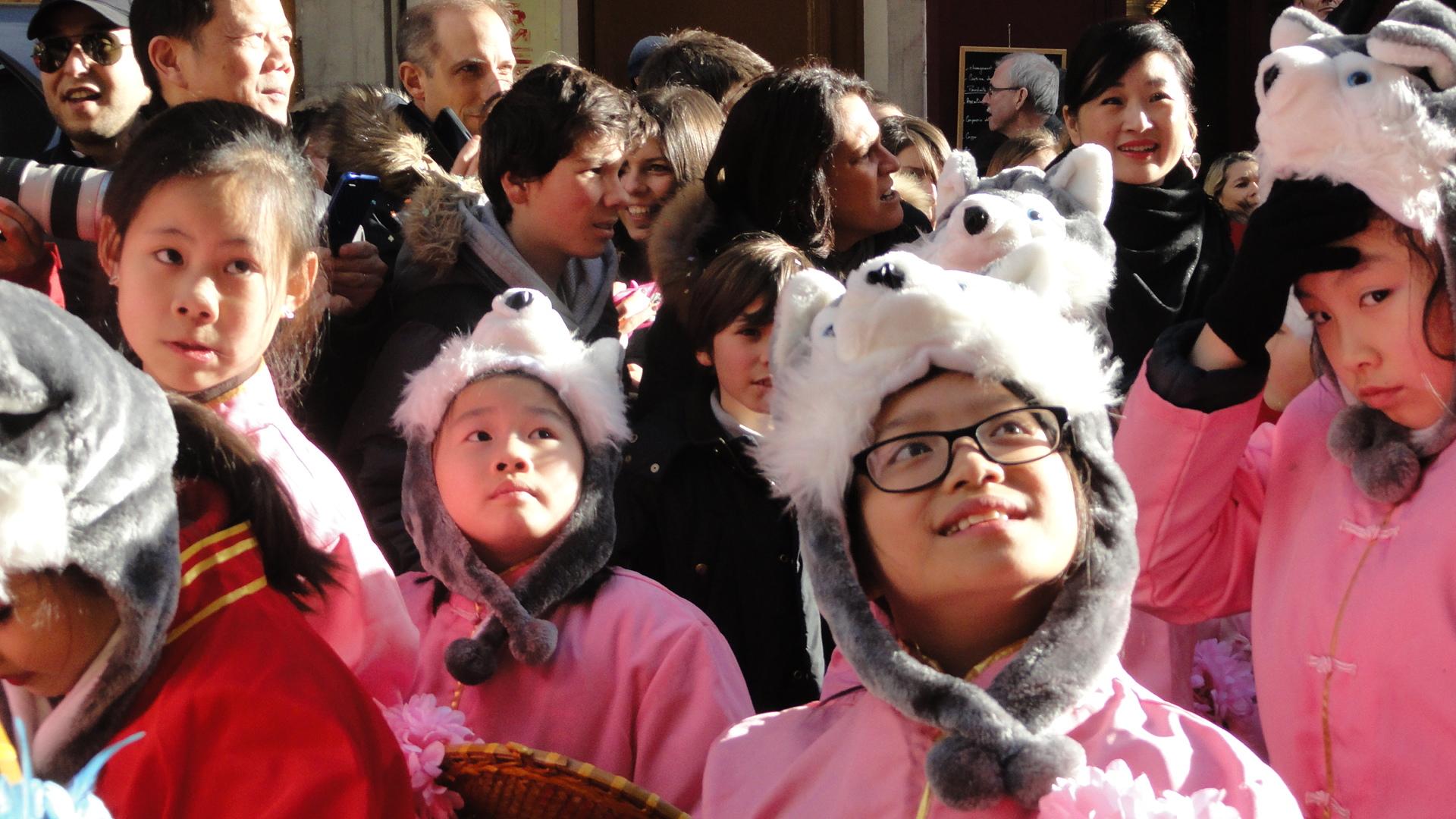Nouvel an chinois dans le Marais - Rue du Temple