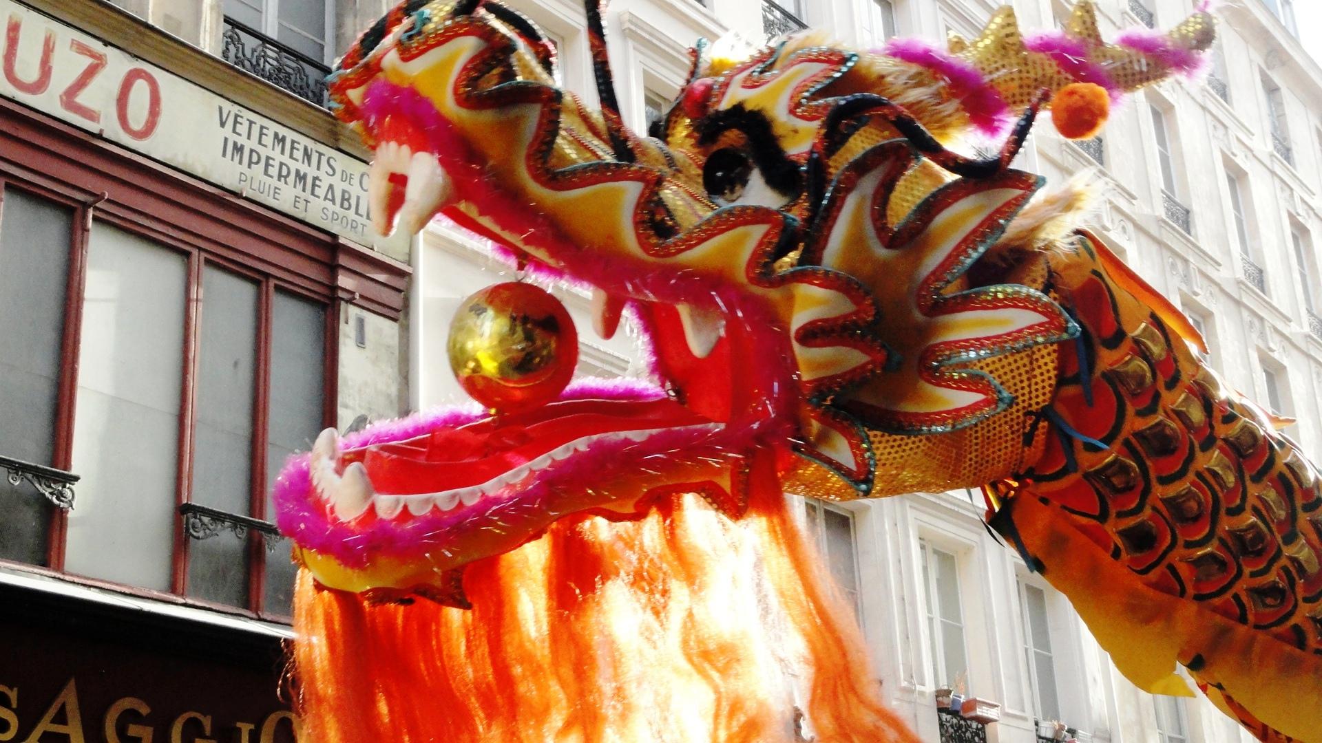 Nouvel an chinois dans le Marais - Dragon
