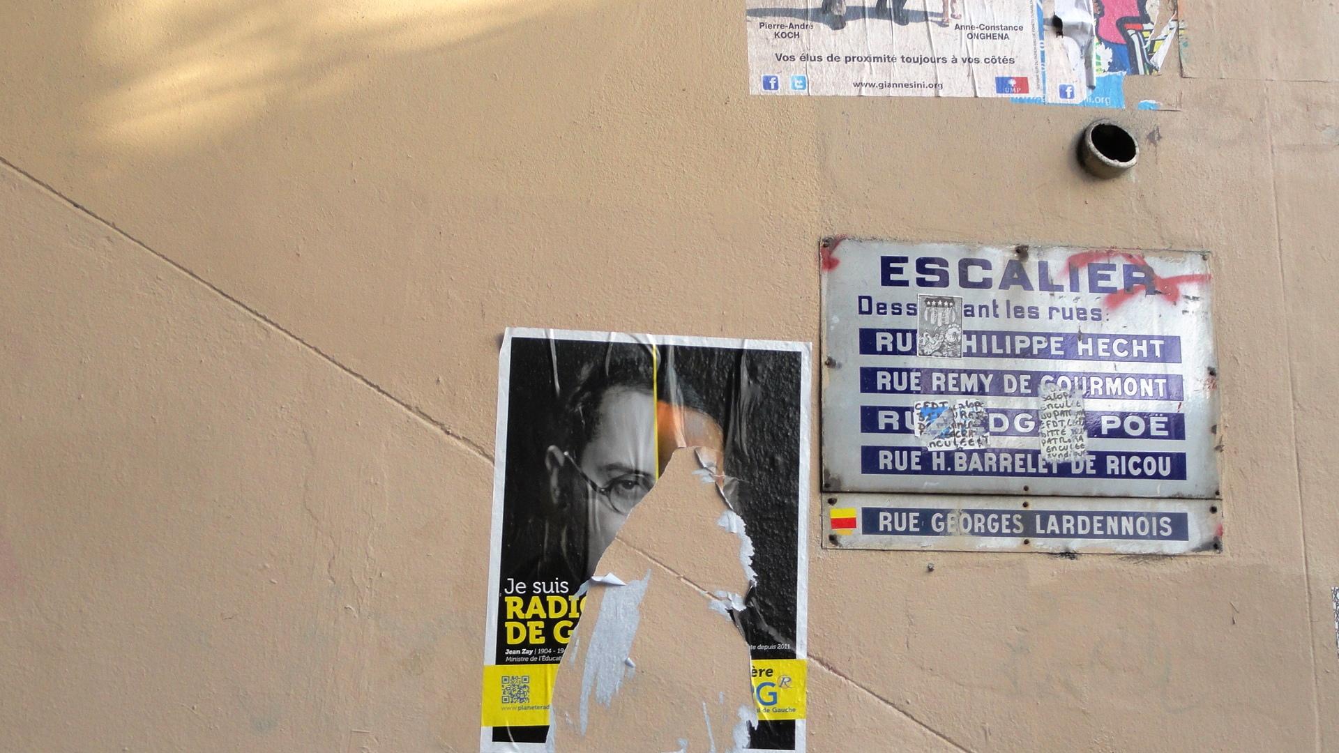 Escaliers - Butte Bergeyre, Paris 19e