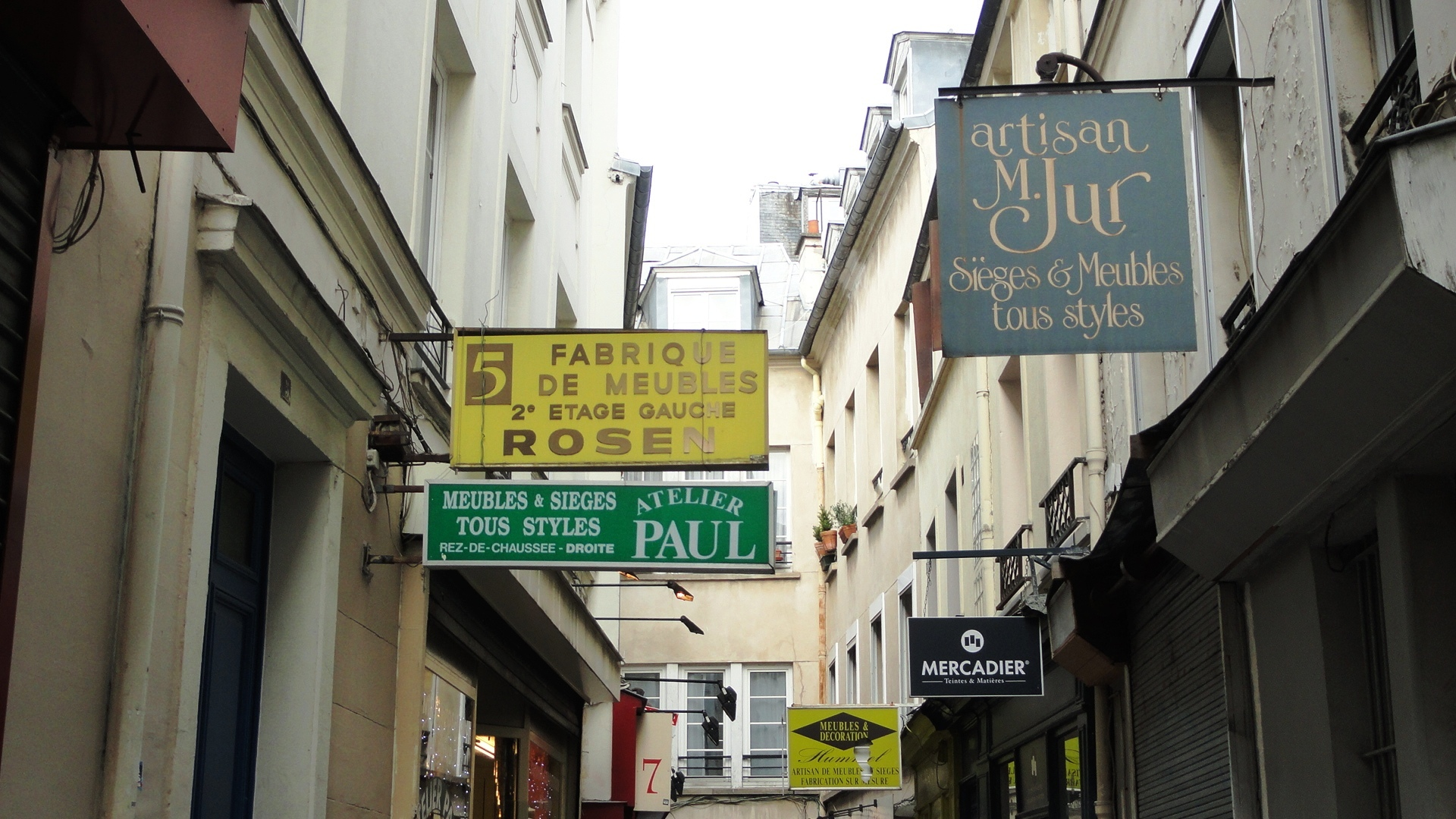 Passage du Chantier, Paris 12e