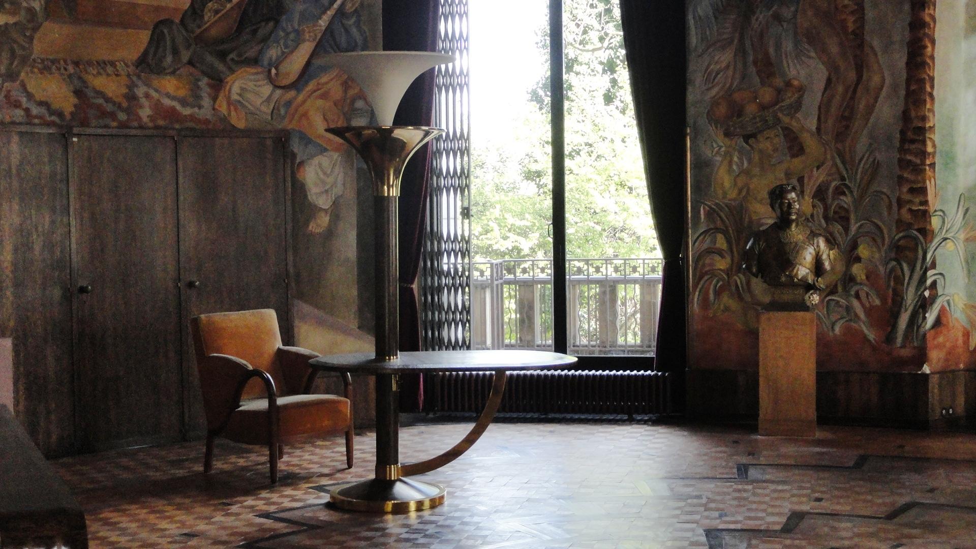 Palais de la Porte Dorée - Le salon ovale du maréchal Lyautey