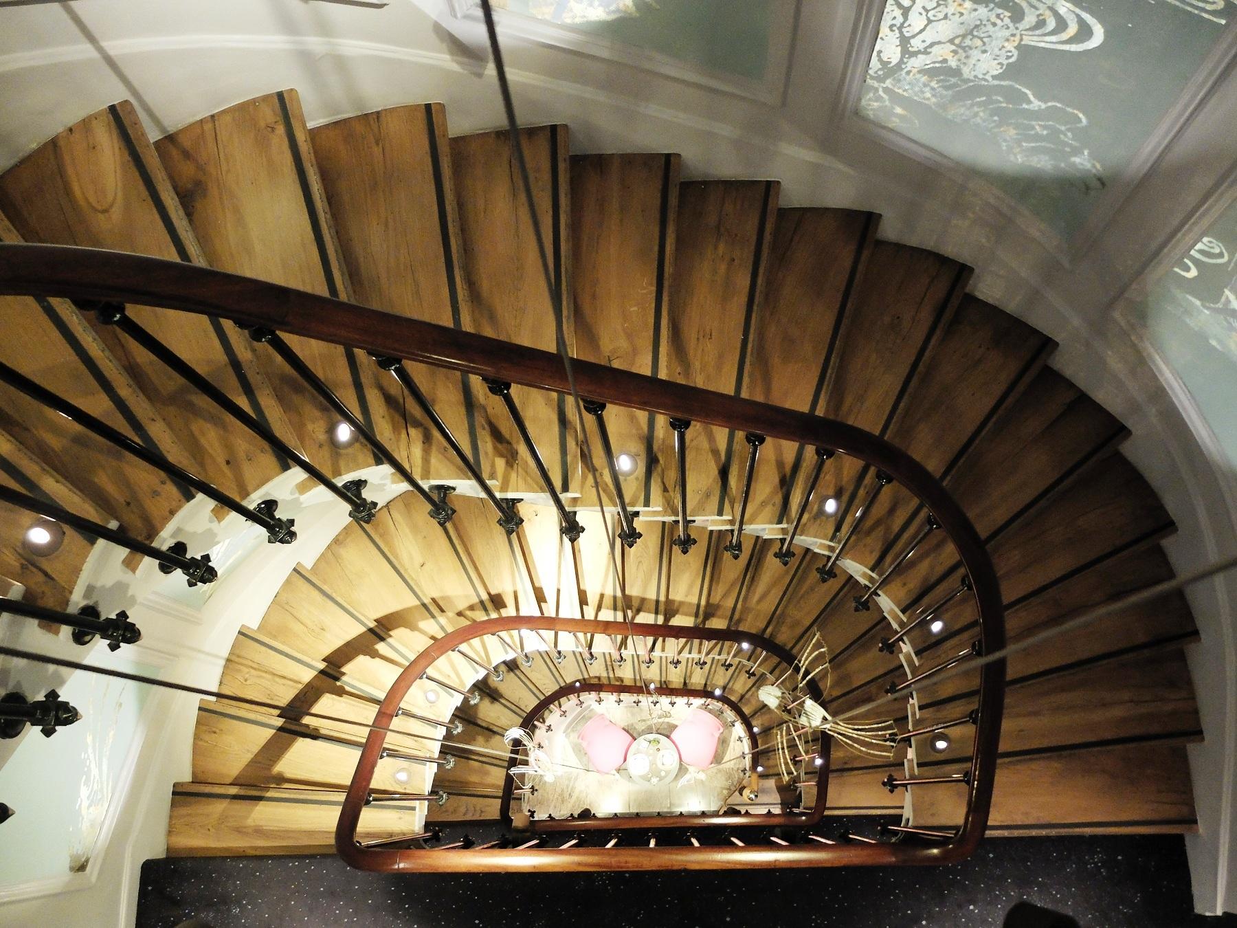 Hôtel Belle Juliette, Paris 6e - Cage d'escalier