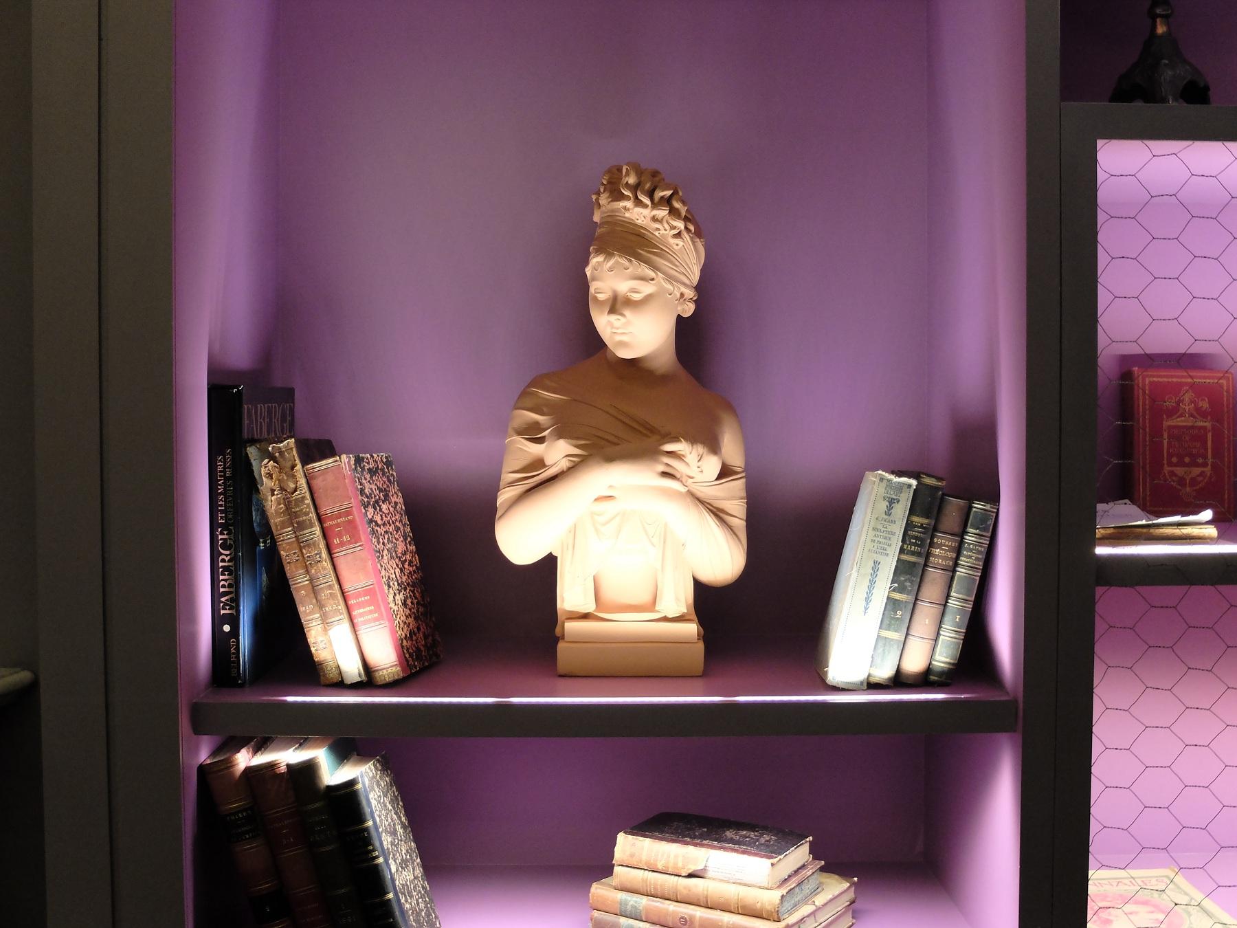 Hôtel Belle Juliette, Paris 6e - Le Talma - Buste de Juliette