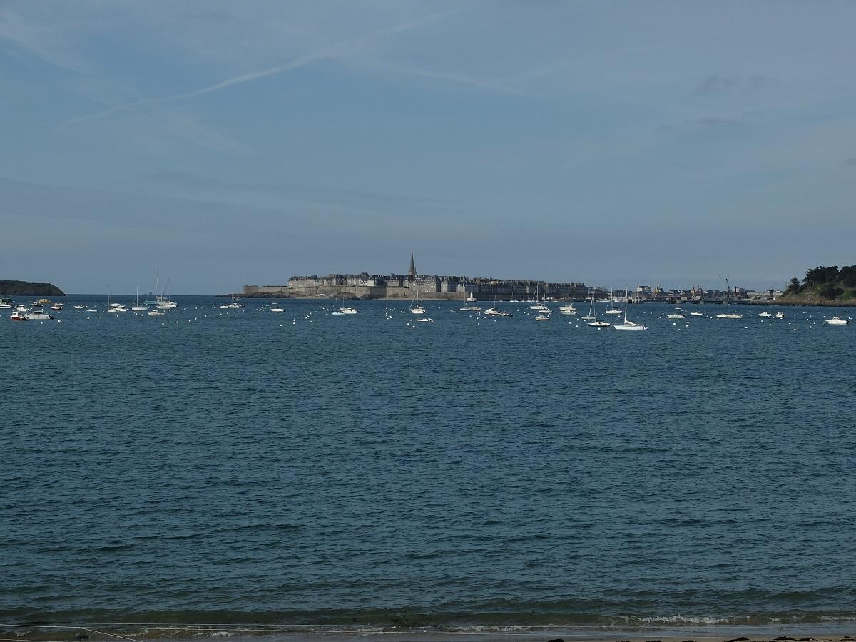 Weekend à Saint Malo - Saint Malo depuis Dinard