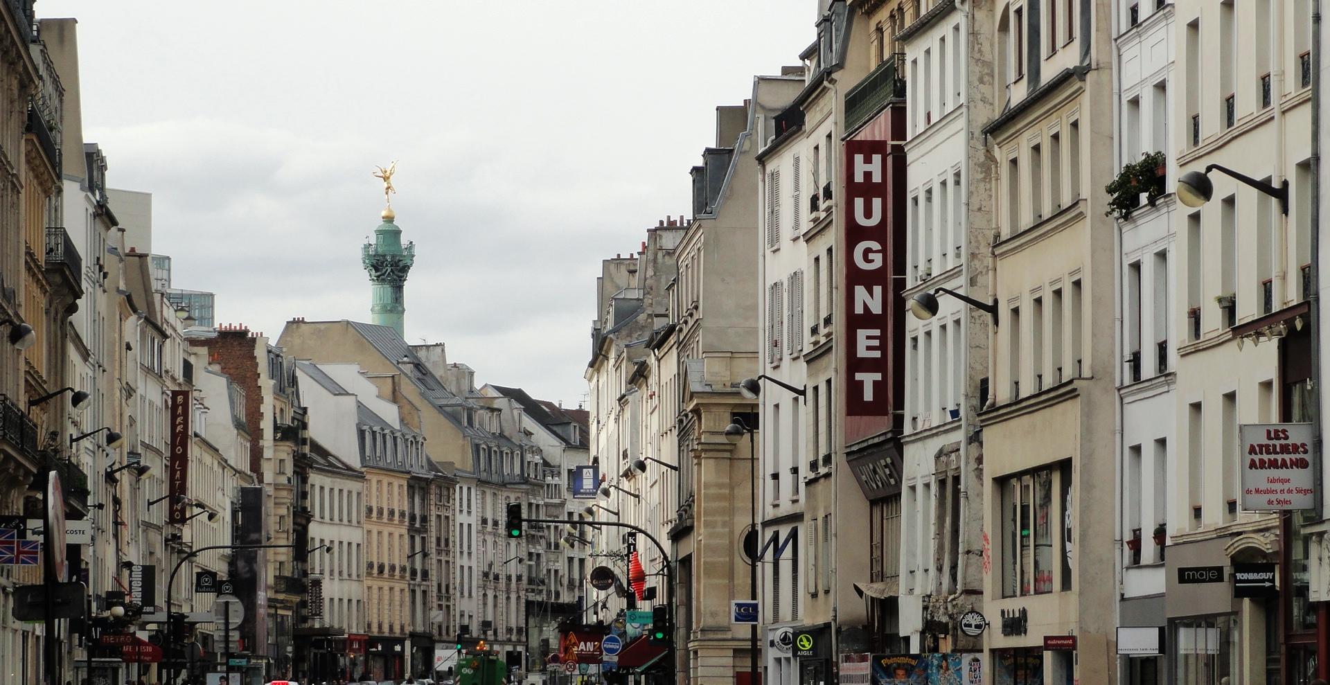 - Paris rue du faubourg saint antoine ...