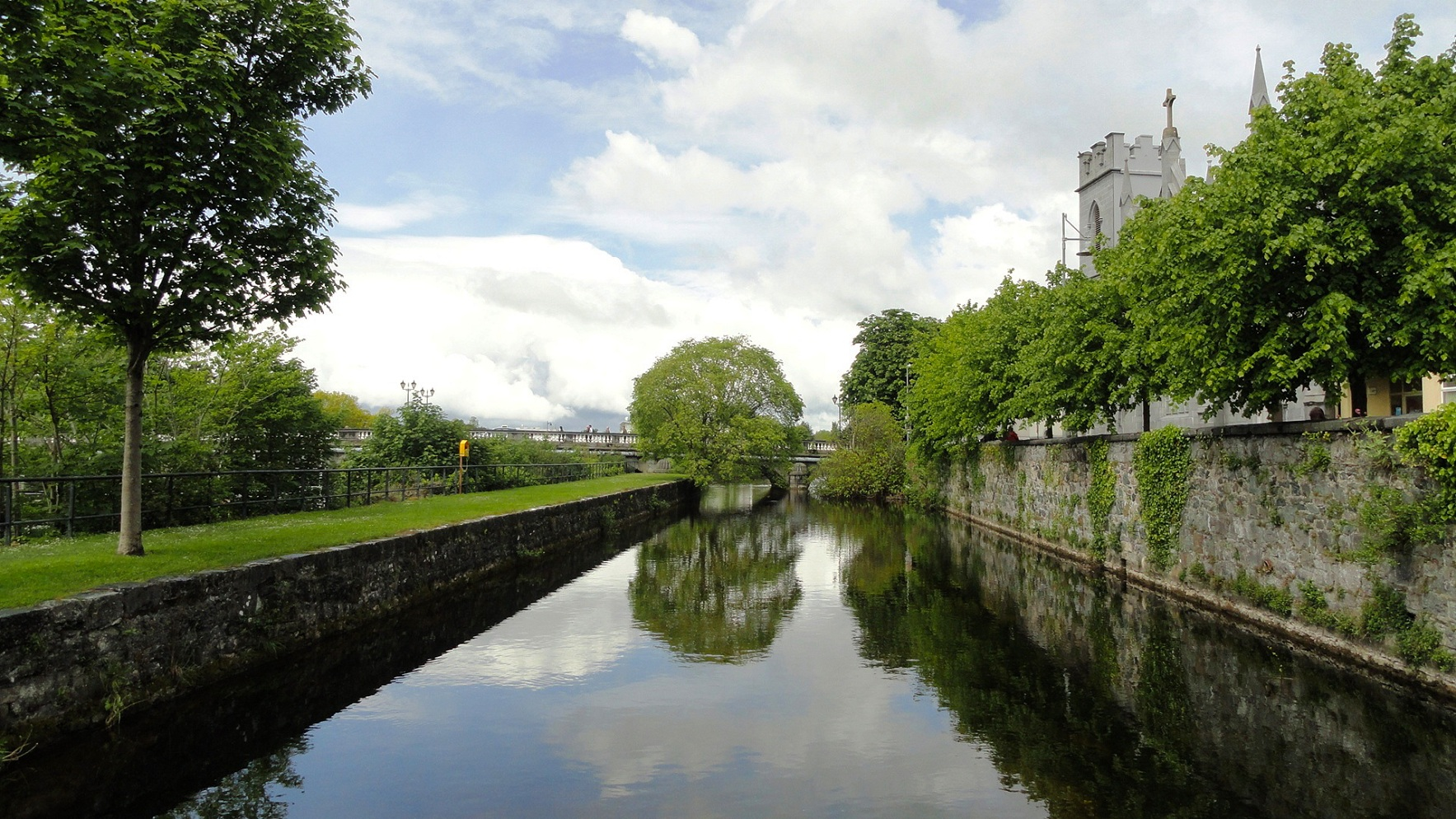 Galway - Le long de River Corrib